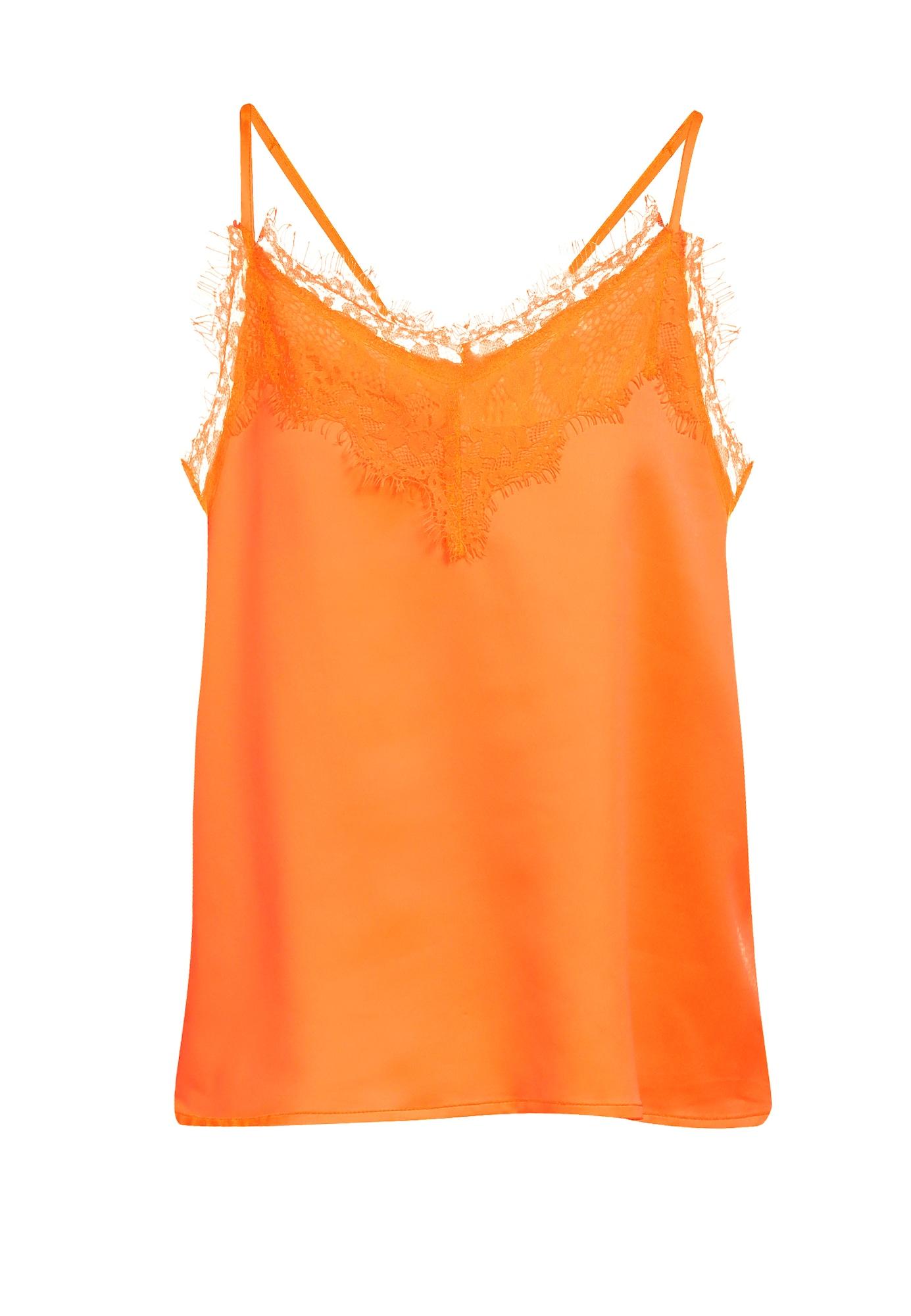 MYMO Palaidinė be rankovių neoninė oranžinė
