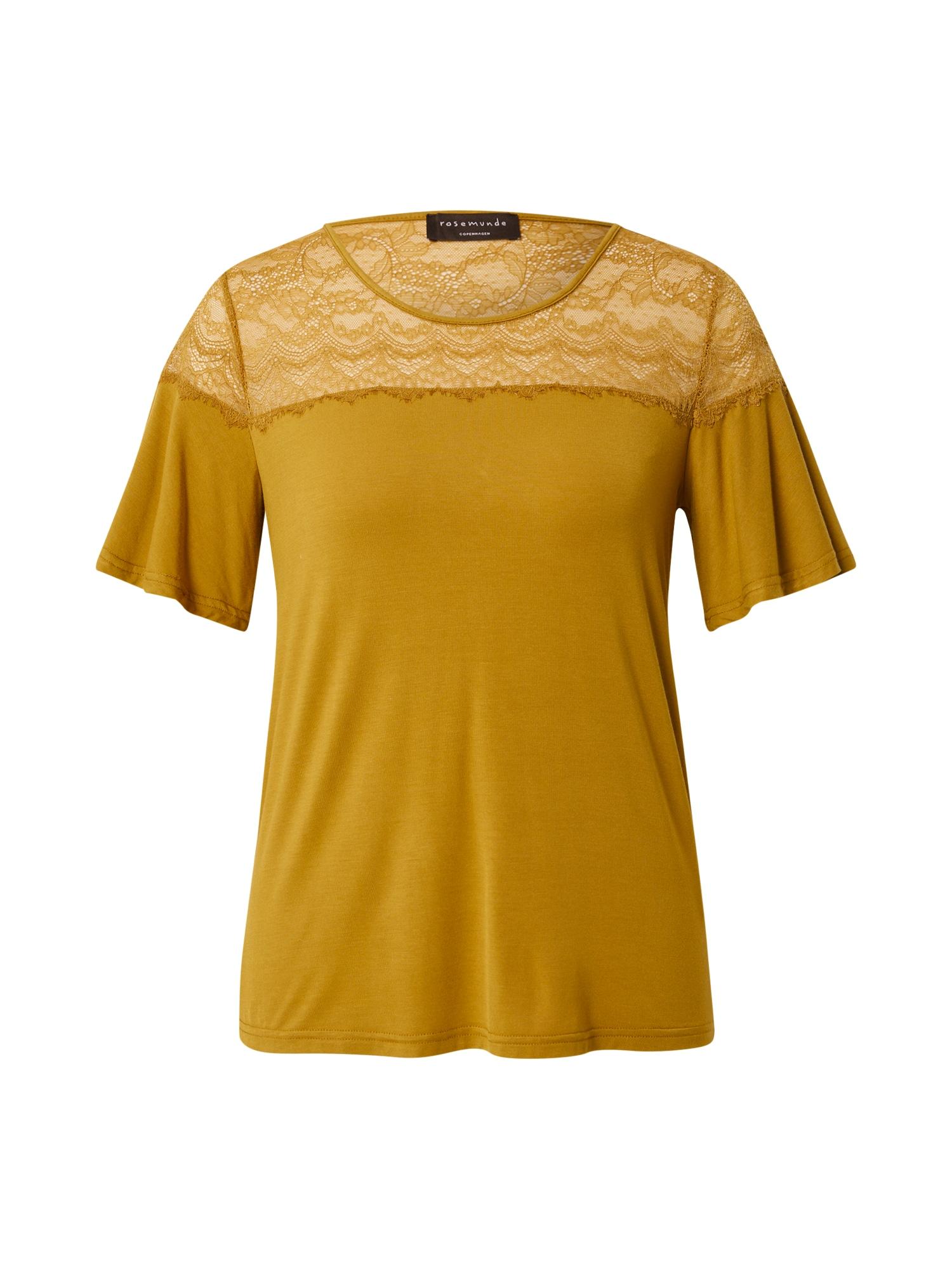 rosemunde Marškinėliai medaus spalva