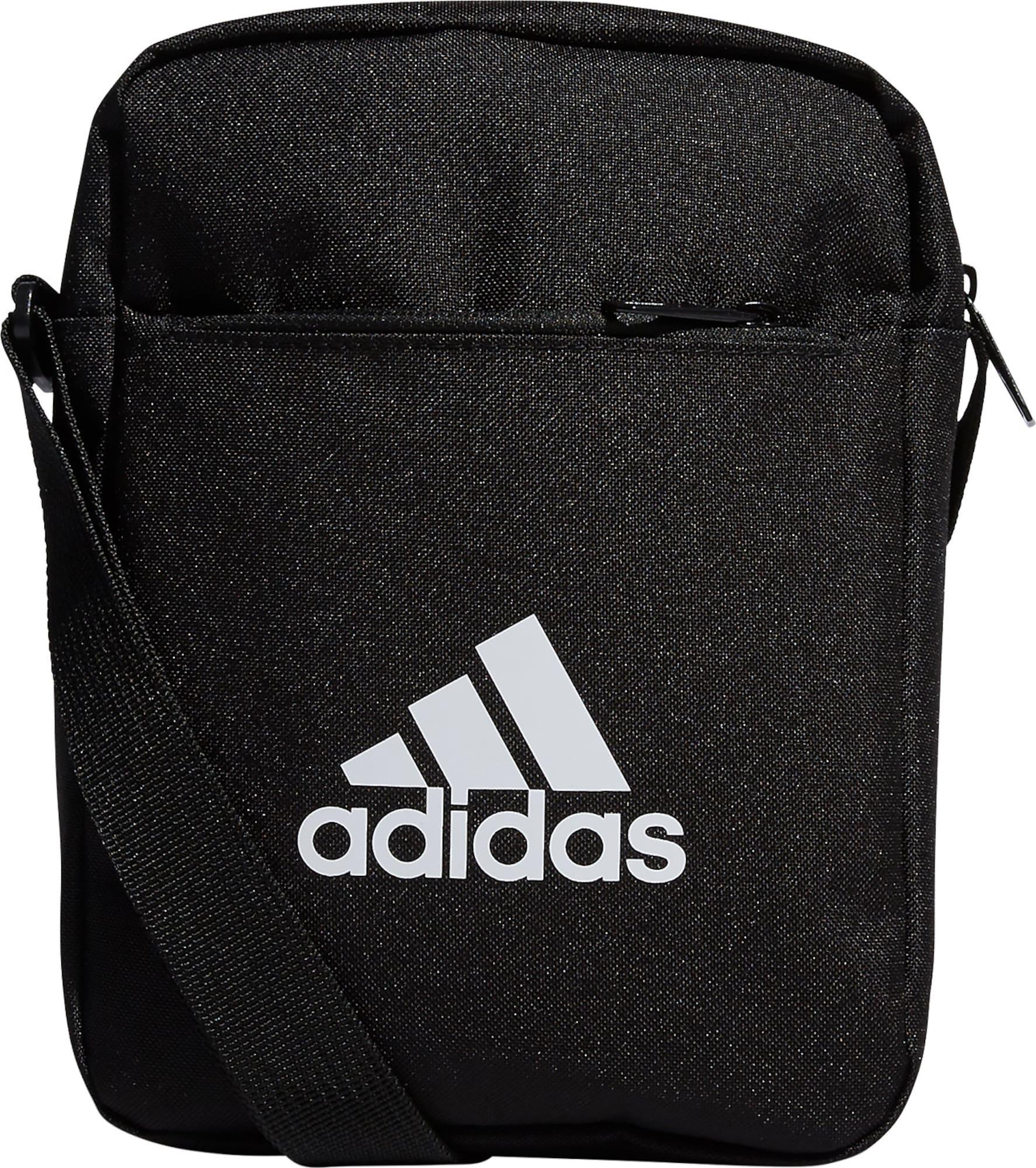 ADIDAS PERFORMANCE Sportinis krepšys 'EC ORG' juoda / balta