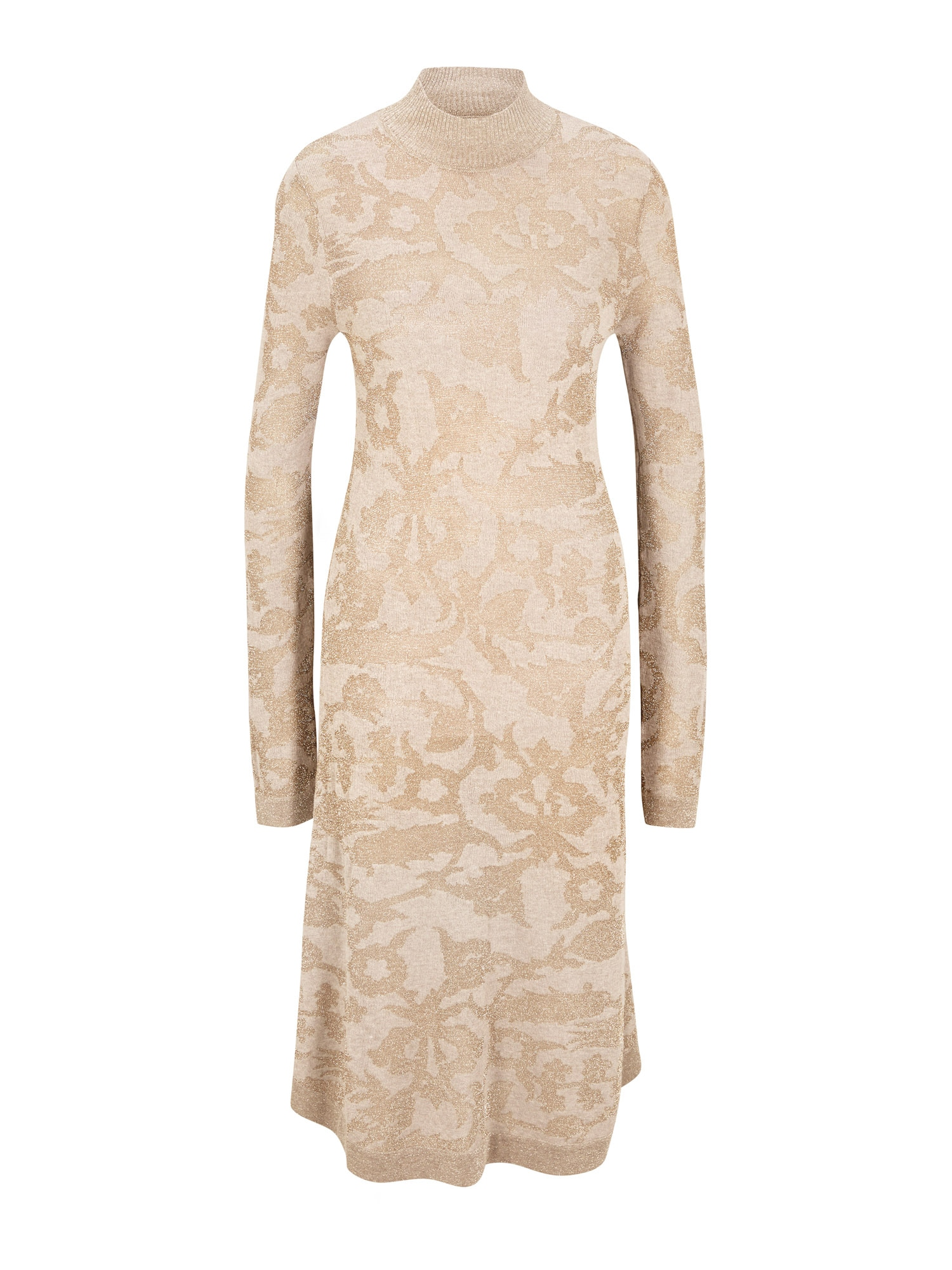 heine Úpletové šaty  tělová / písková