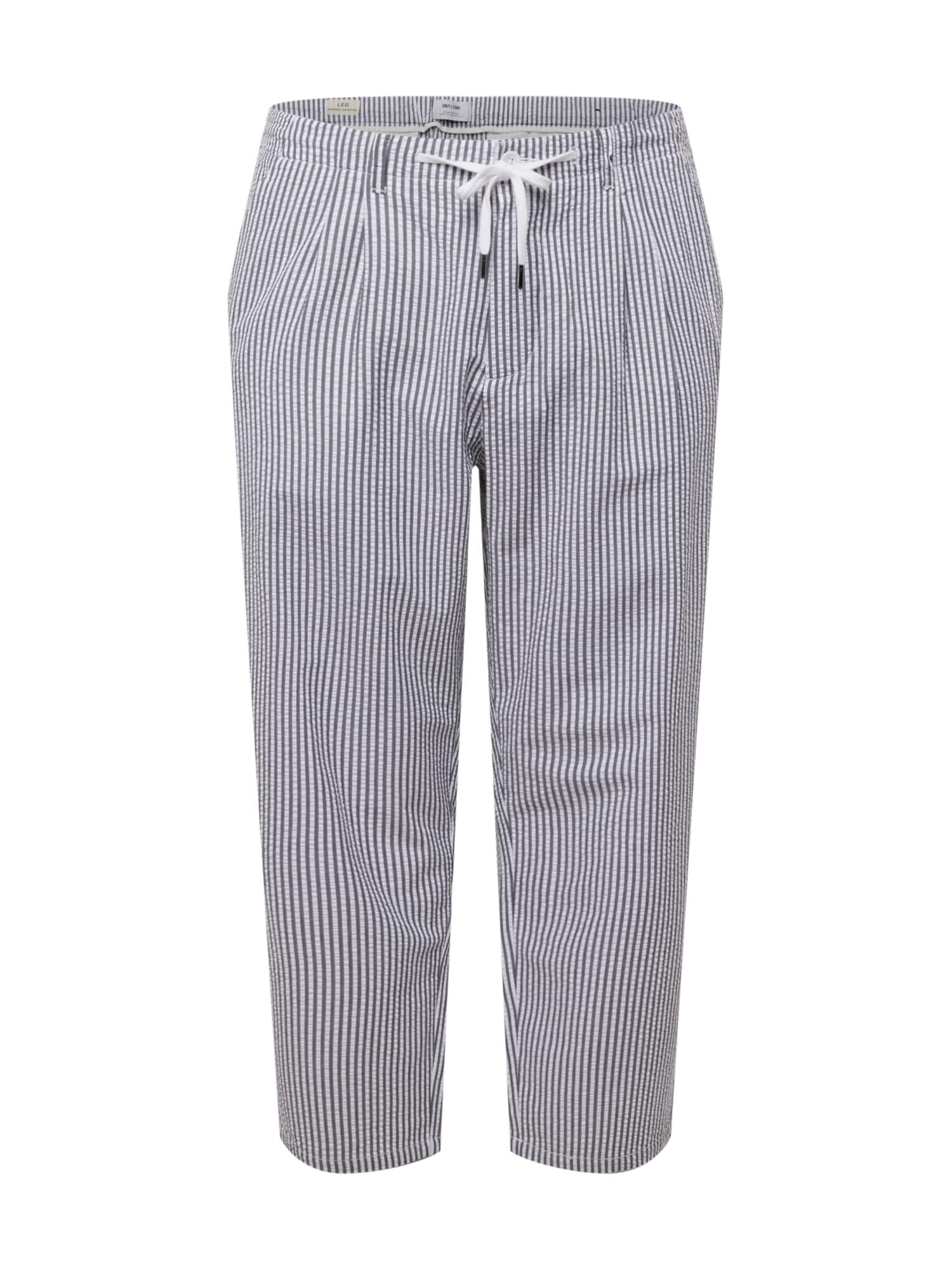 Only & Sons Big & Tall Klostuotos kelnės