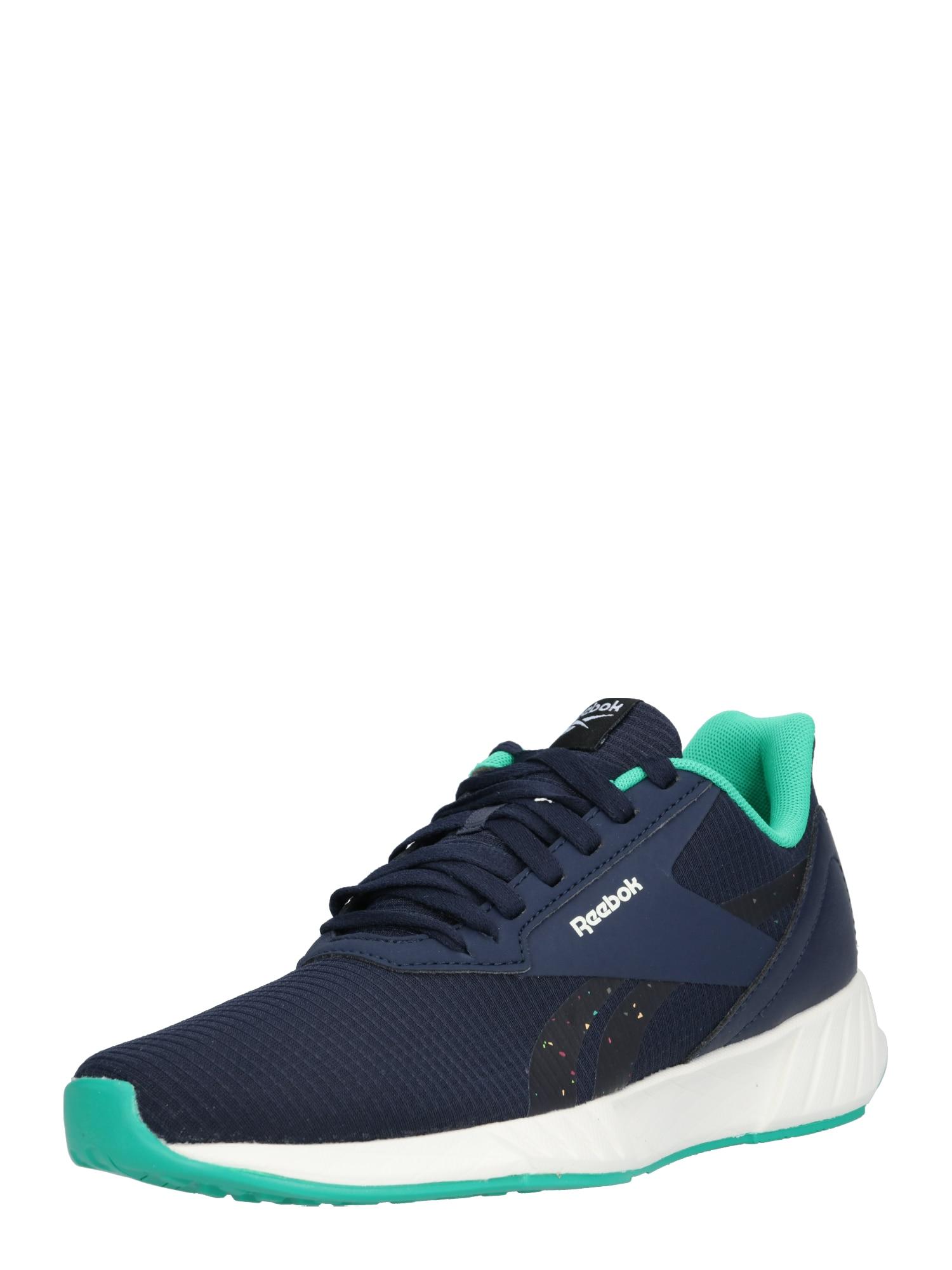 REEBOK Sportovní boty 'Lite Plus 2.'  zelená / tmavě modrá / bílá