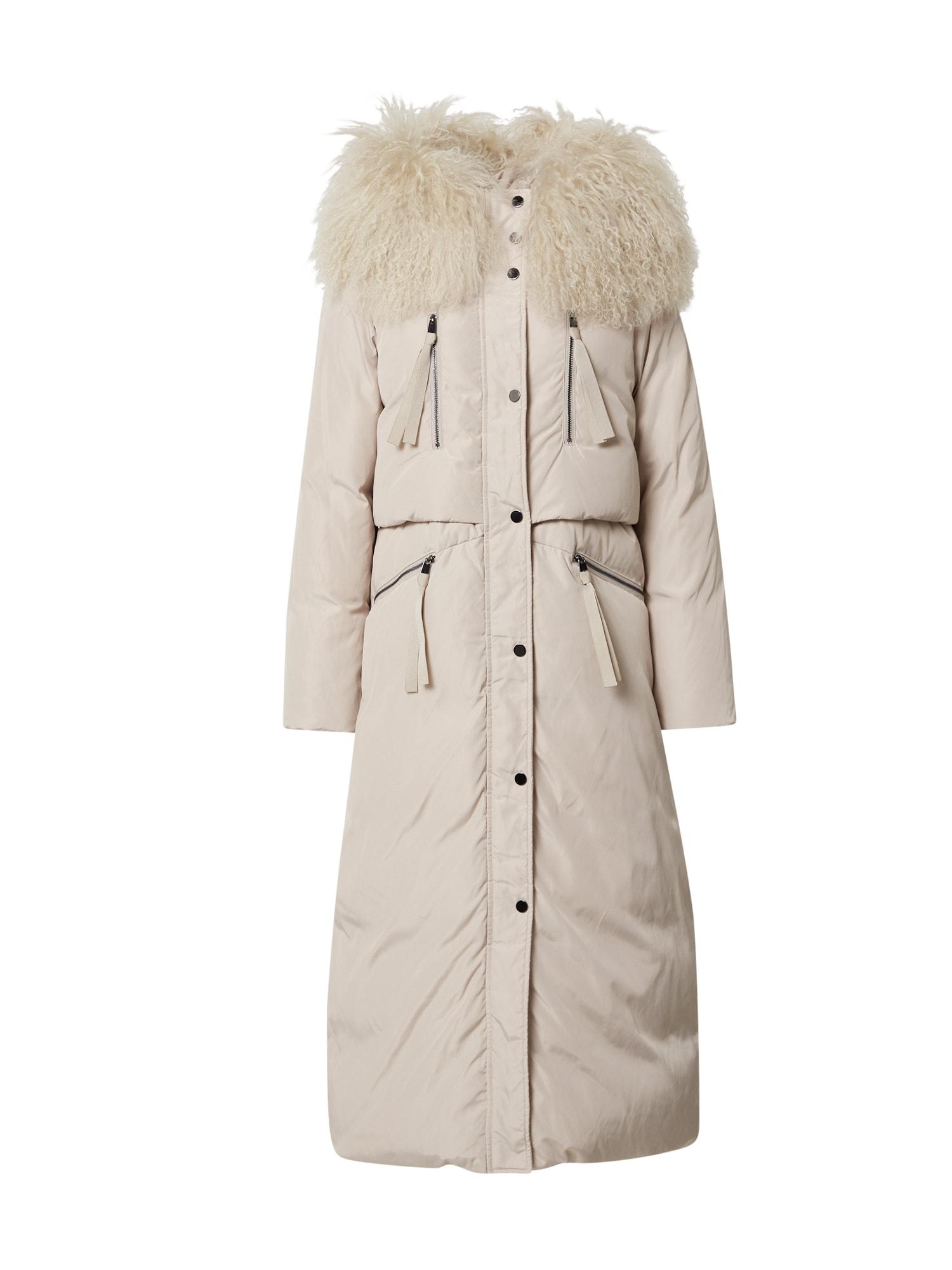 MAX&Co. Žieminis paltas 'Oriente' smėlio