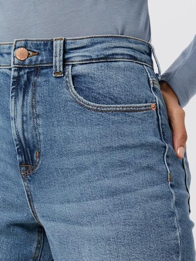 Only Megan Highwaist-Jeans mit weitem Bein
