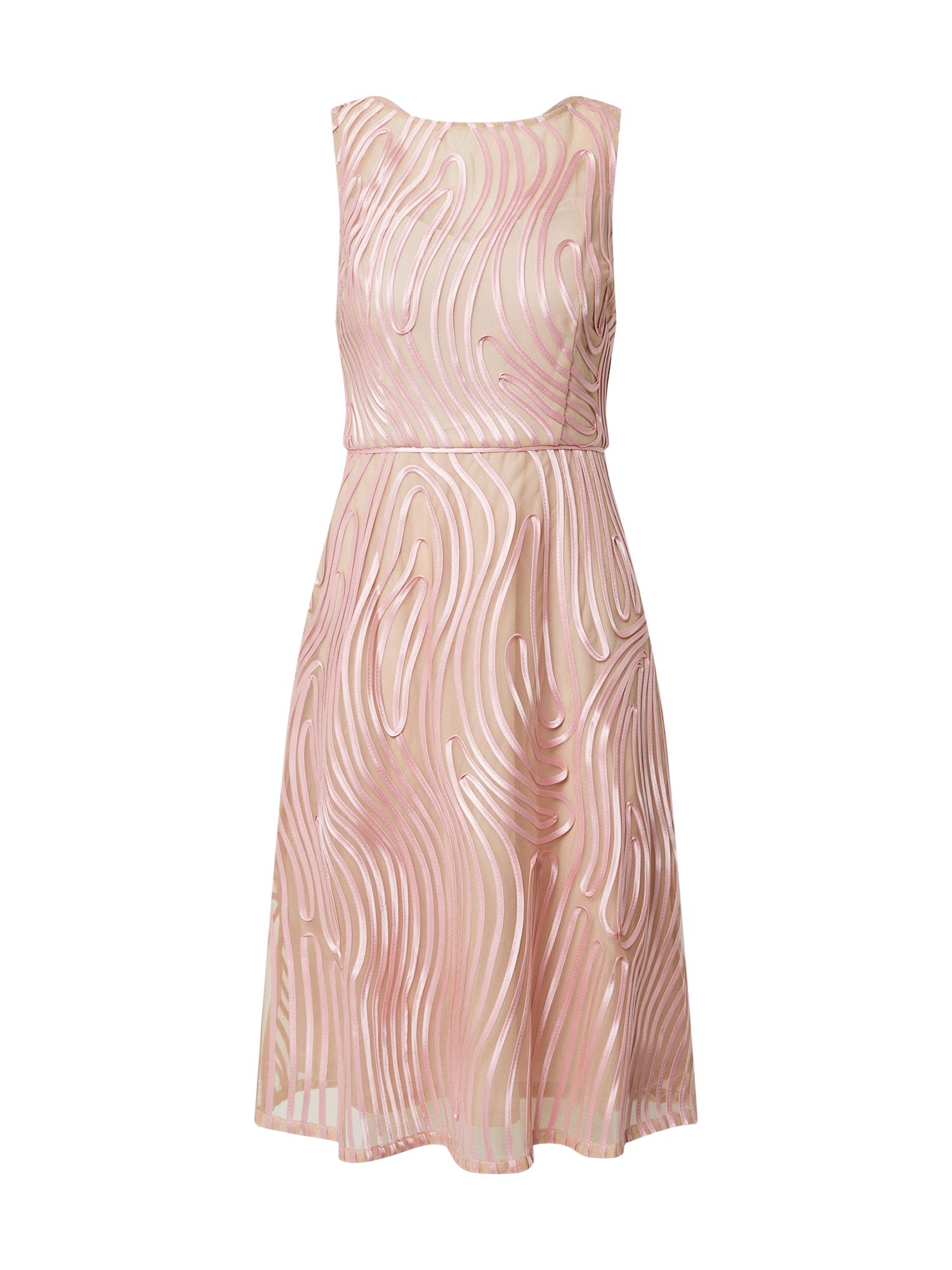Adrianna Papell Kokteilinė suknelė rožių spalva