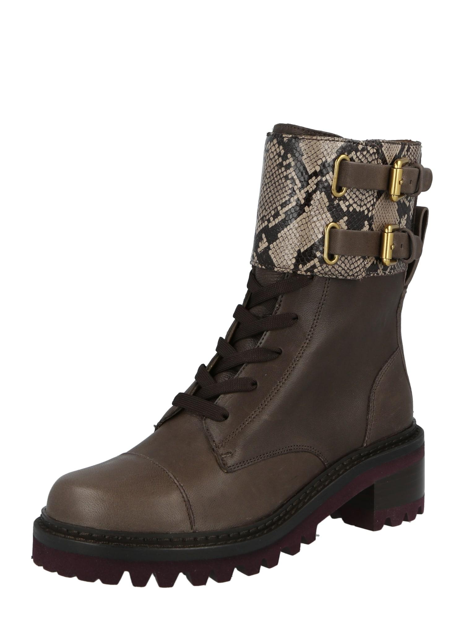 See by Chloé Suvarstomieji kulkšnis dengiantys batai