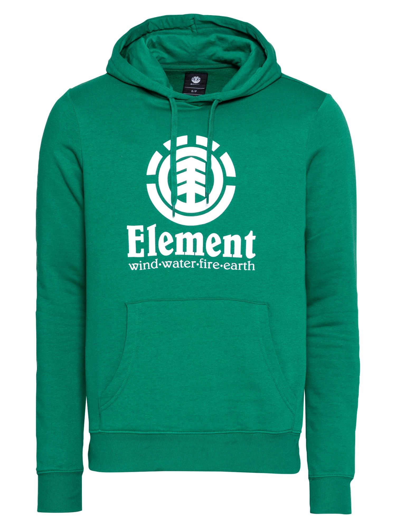 ELEMENT Megztinis be užsegimo žalia / balta