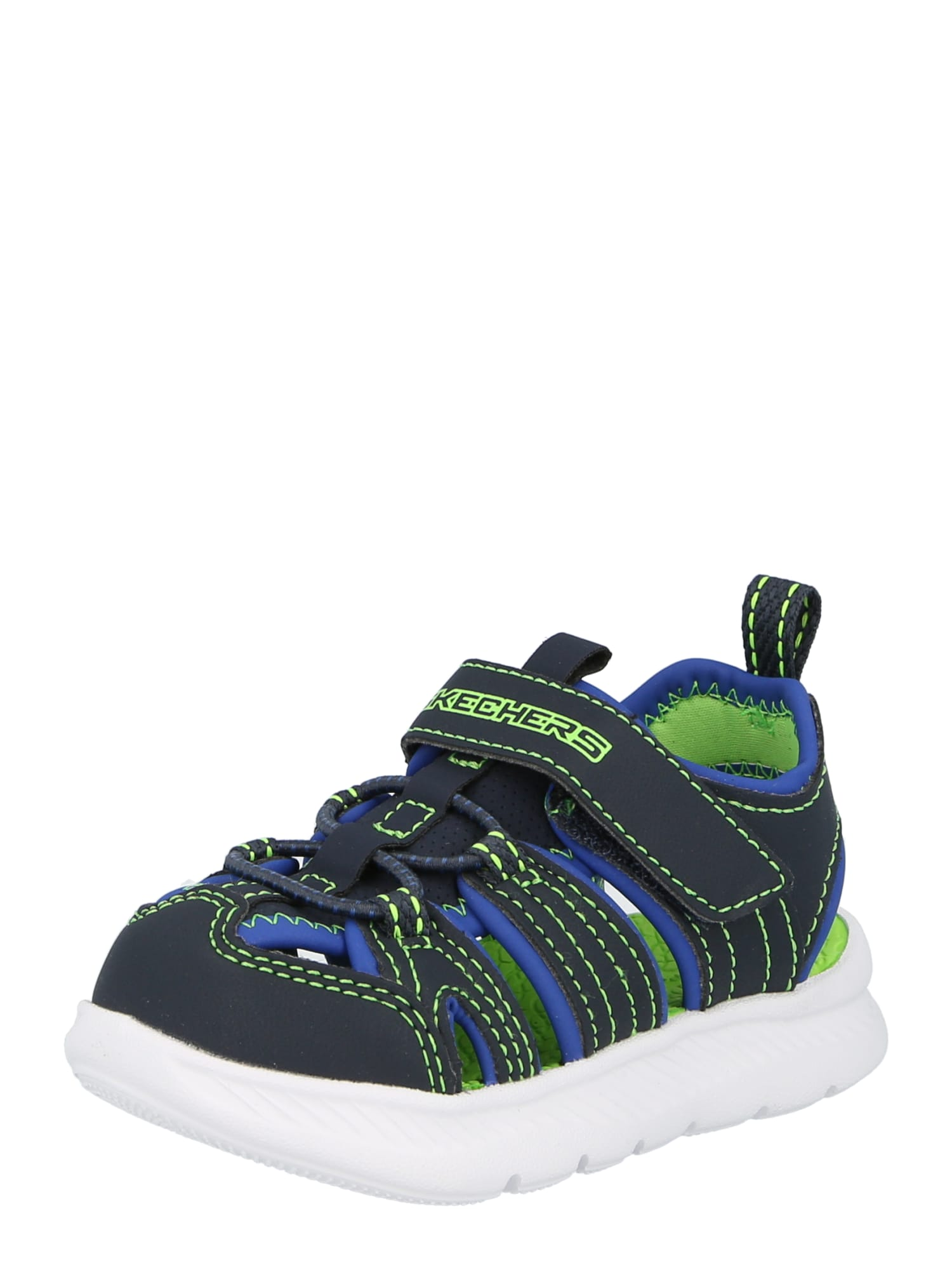 SKECHERS Atviri batai tamsiai mėlyna / mėlyna