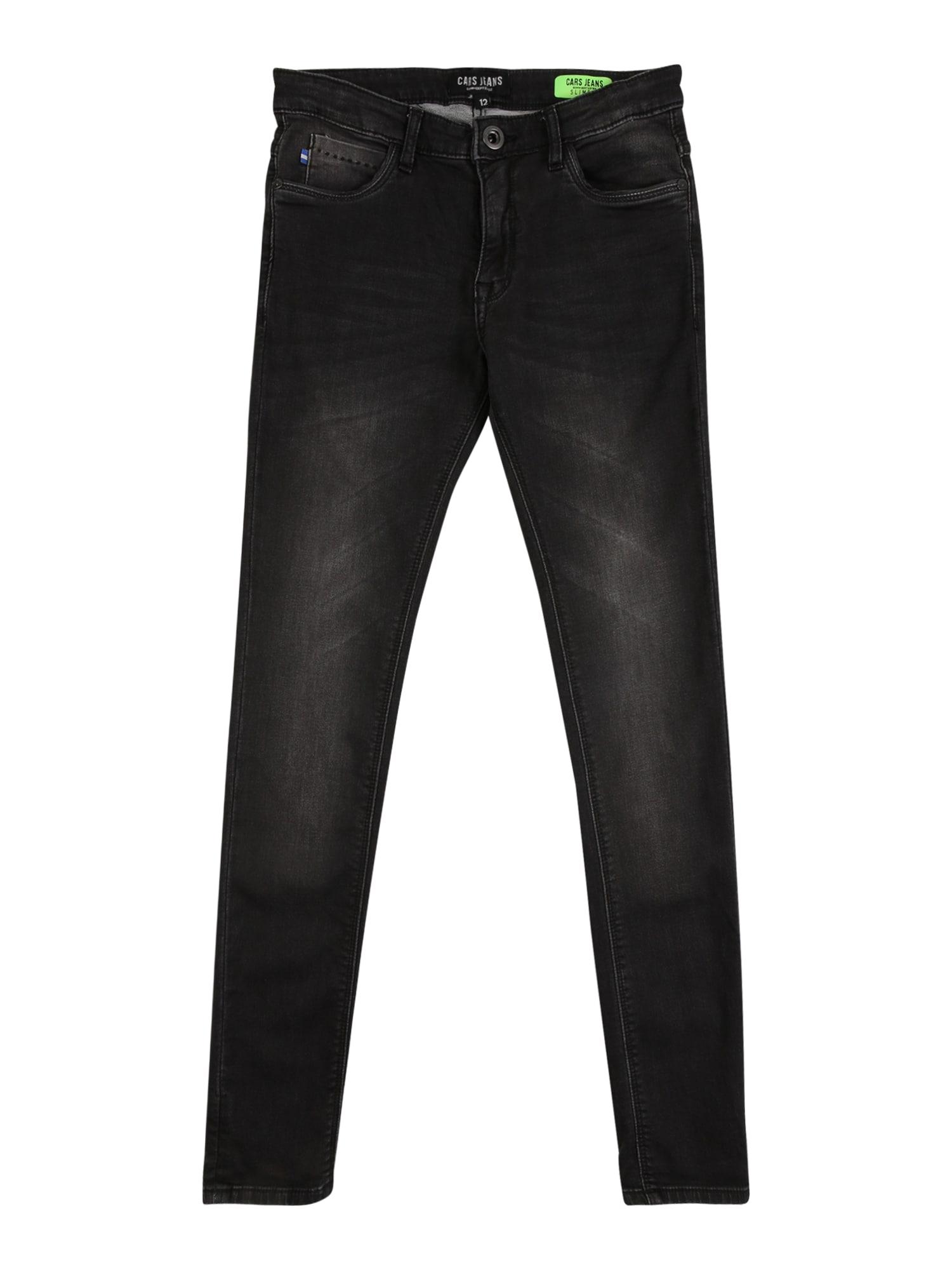Cars Jeans Džinsai juodo džinso spalva
