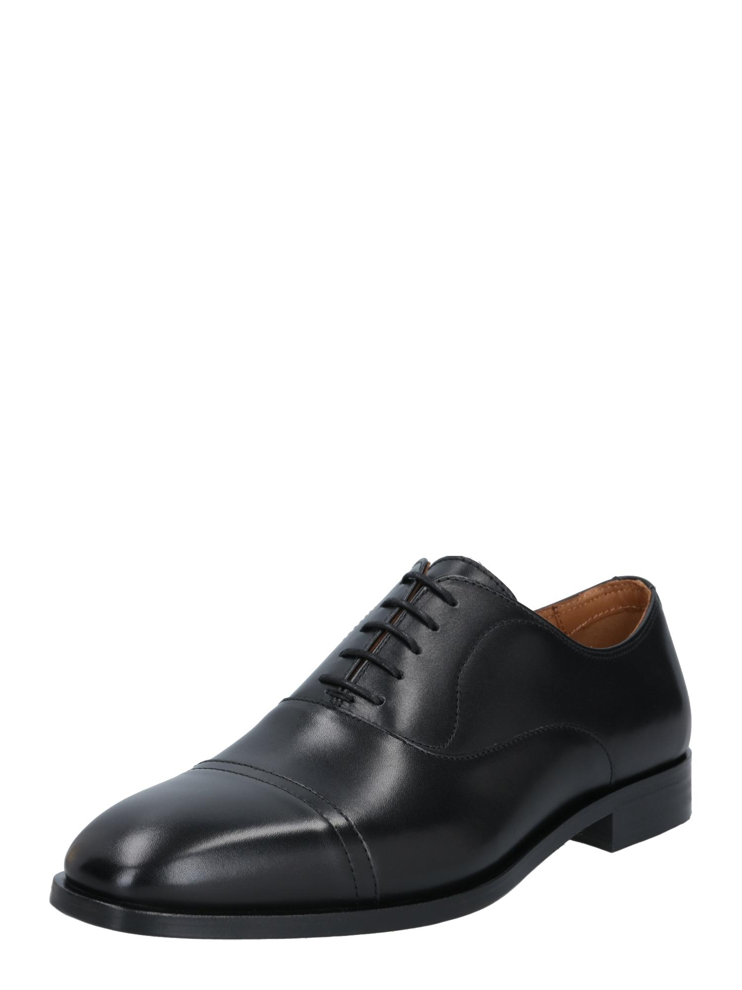 BOSS Šněrovací boty 'Lisbon'  černá