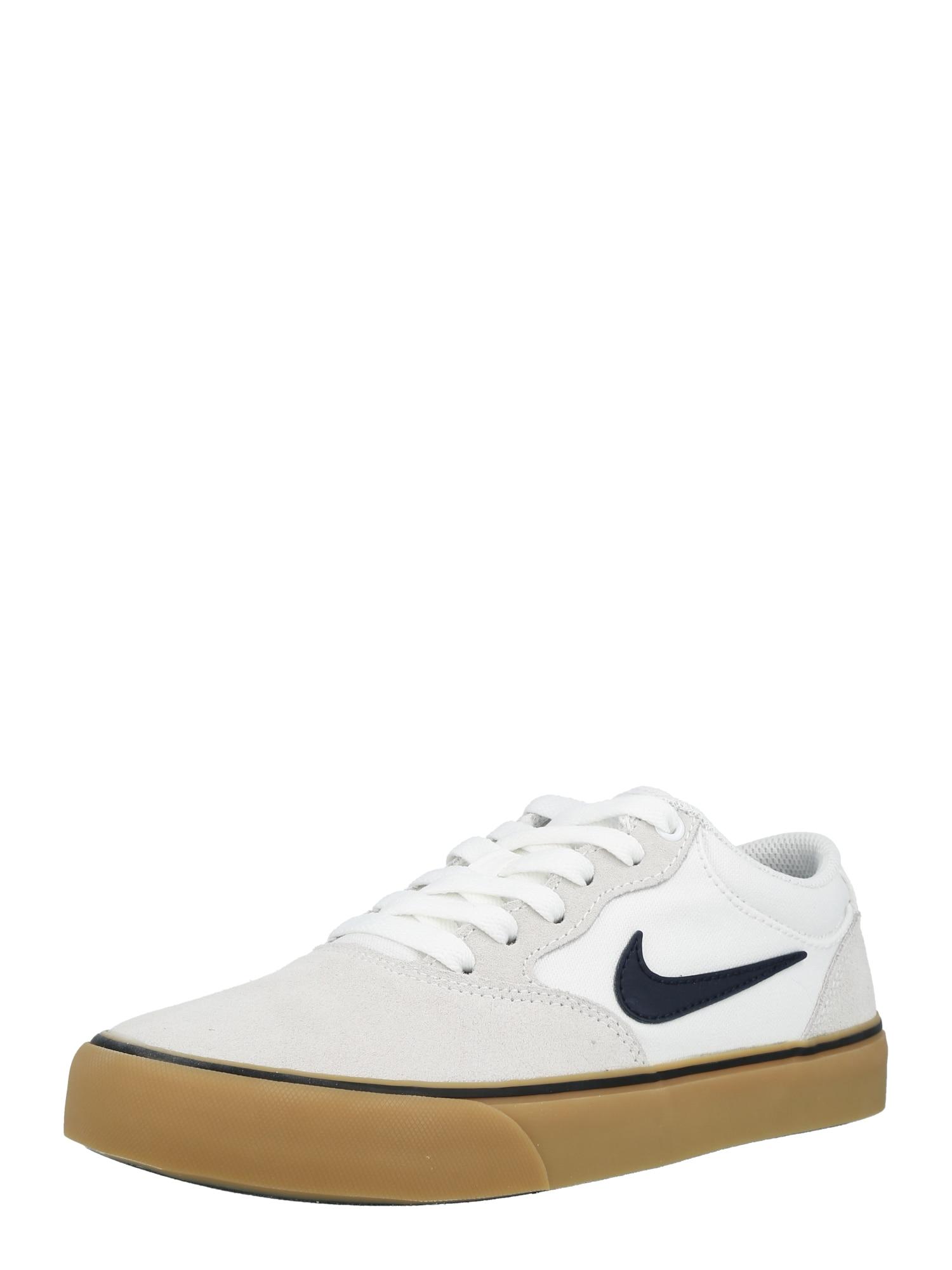 Nike SB Sportovní boty 'Chron 2'  bílá / světle šedá / tmavě modrá