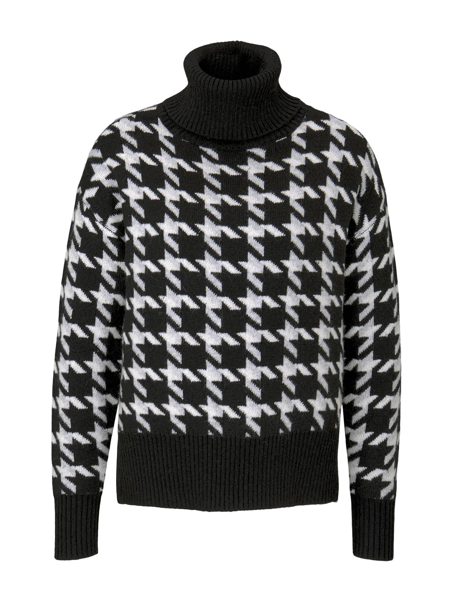 MINE TO FIVE Megztinis juoda / balta