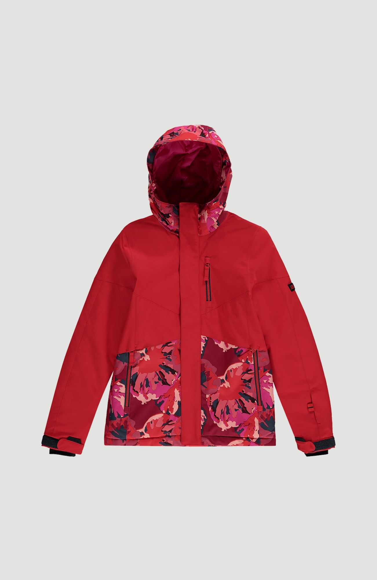 O'NEILL Sportovní bunda  ohnivá červená / pink / tmavě modrá