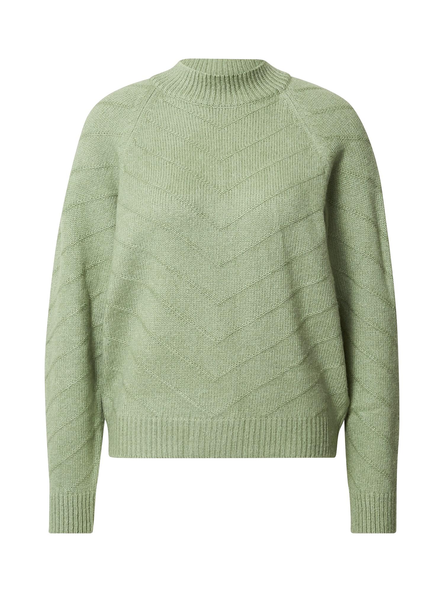 ABOUT YOU Megztinis 'Amanda' mėtų spalva