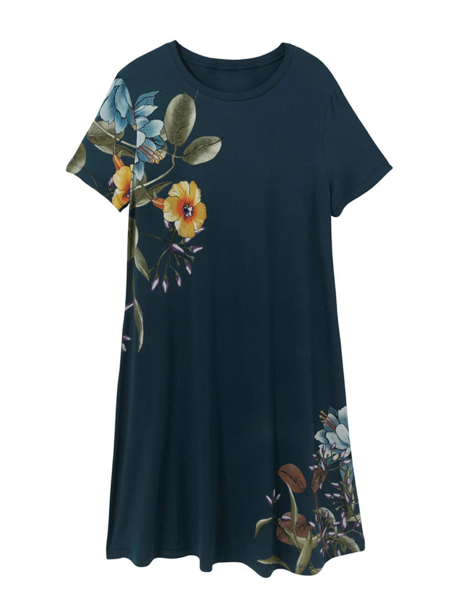 Desigual Letní šaty 'LAS VEGAS'  modrá / zelená / žlutá / světlemodrá / fialová