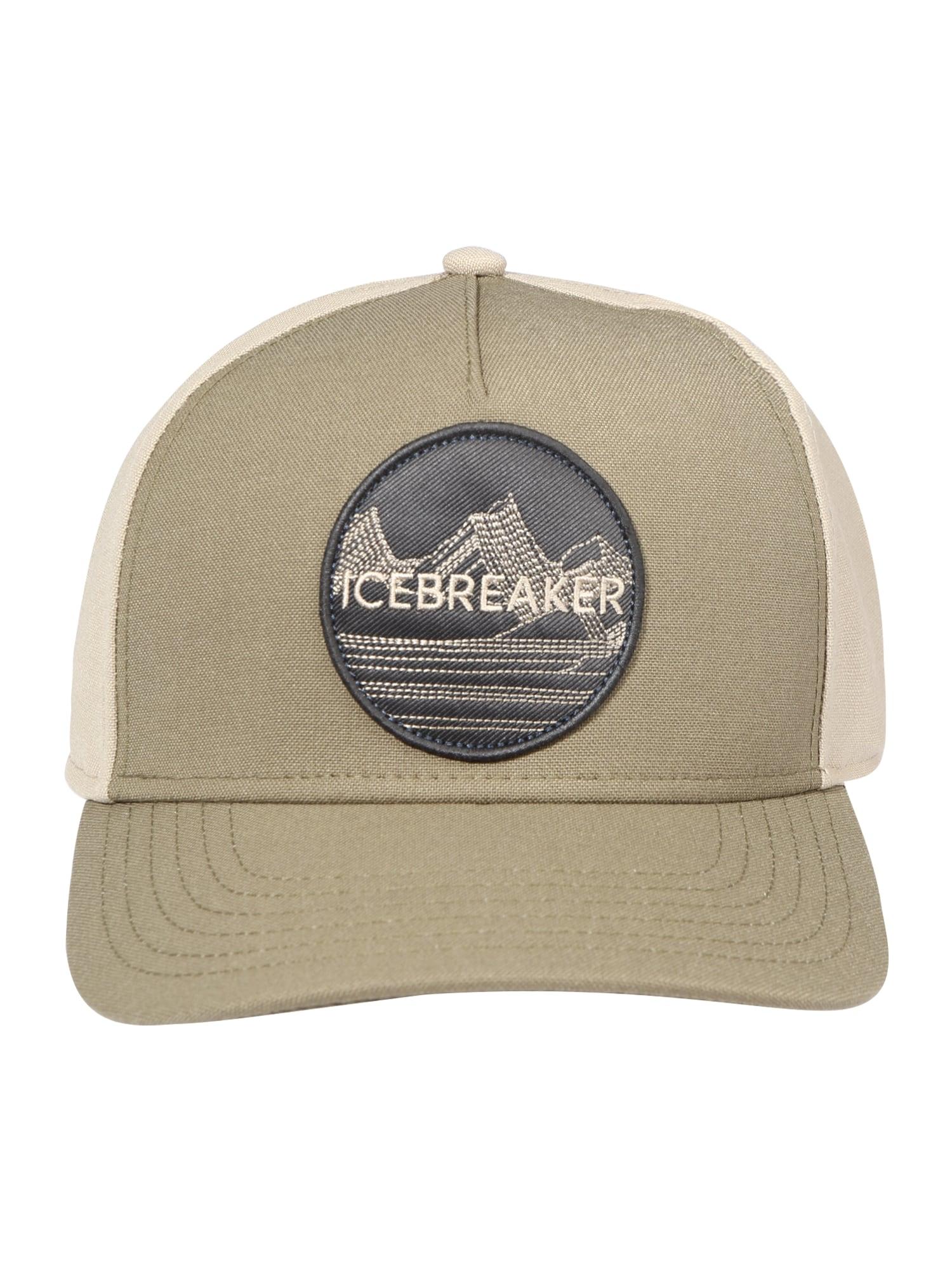 Icebreaker Sportinė kepurė ruda / juoda / smėlio spalva / kremo