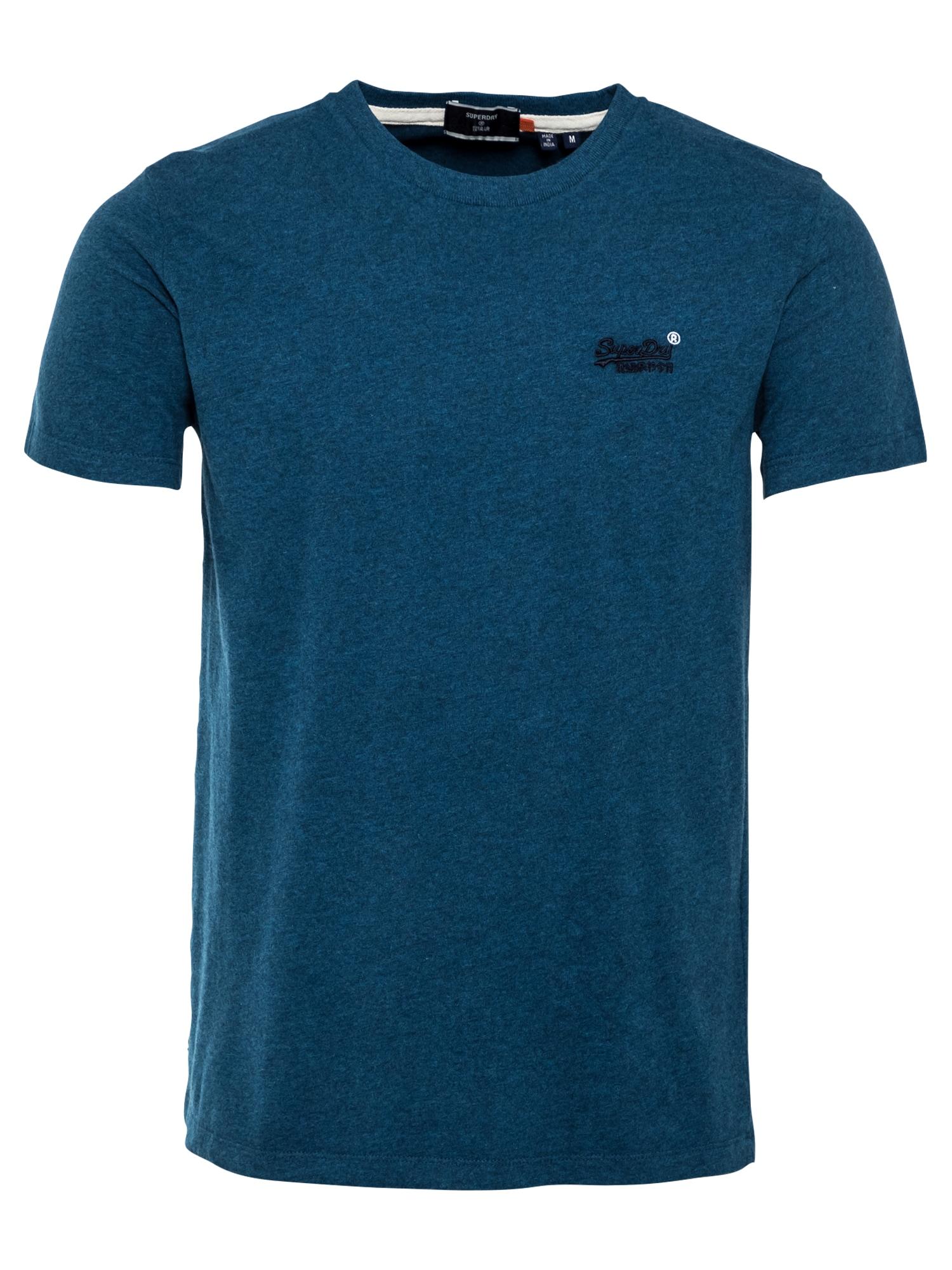Superdry Marškinėliai 'Vintage' tamsiai mėlyna