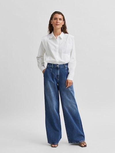Pleat-front jeans 'Jenni'