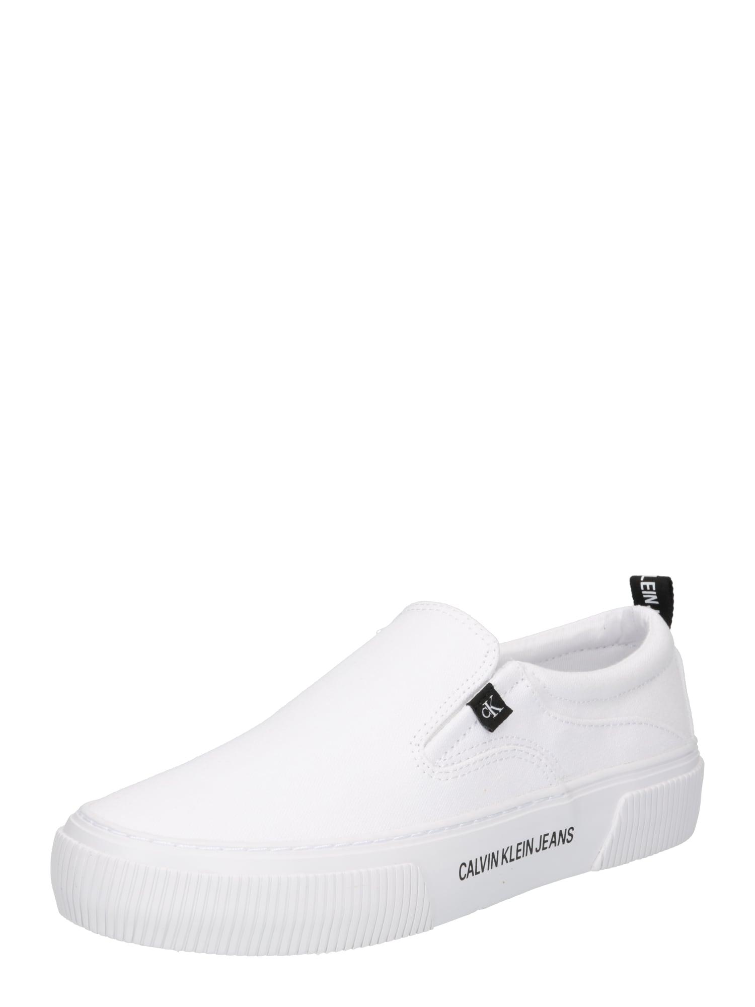 Calvin Klein Jeans Slipper  bílá