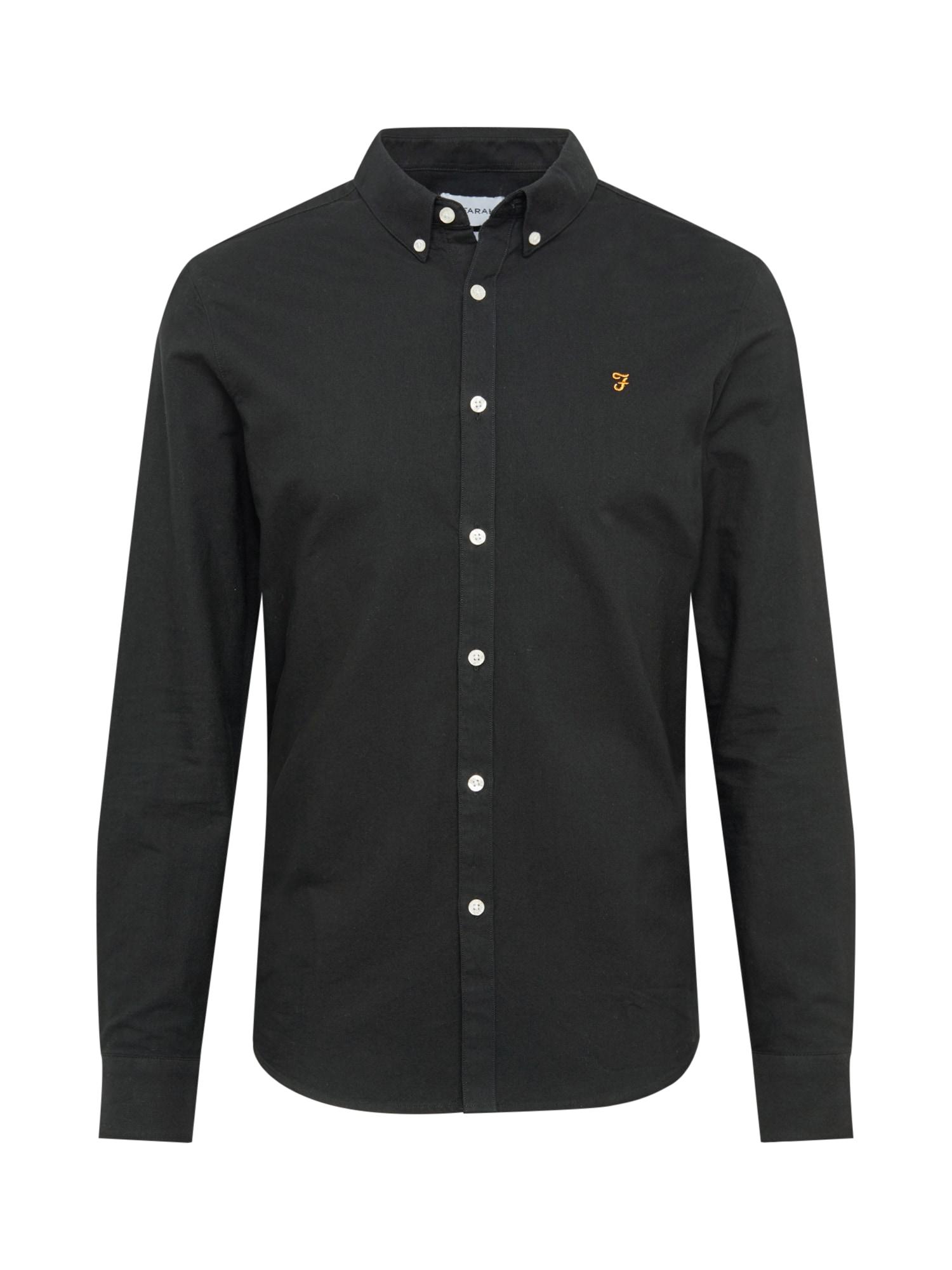 FARAH Košile 'Brewer'  černá
