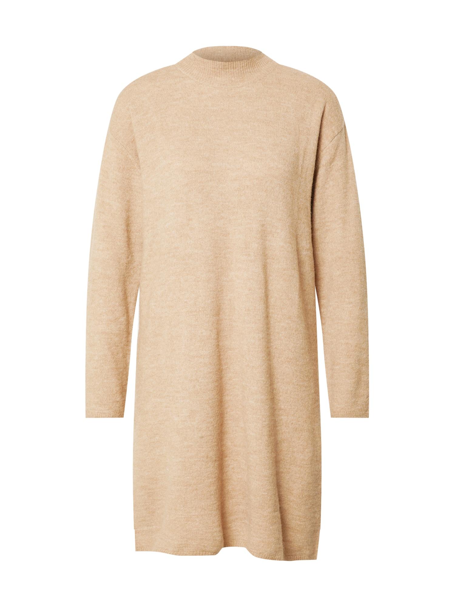 minimum Úpletové šaty 'Patriona'  světle béžová