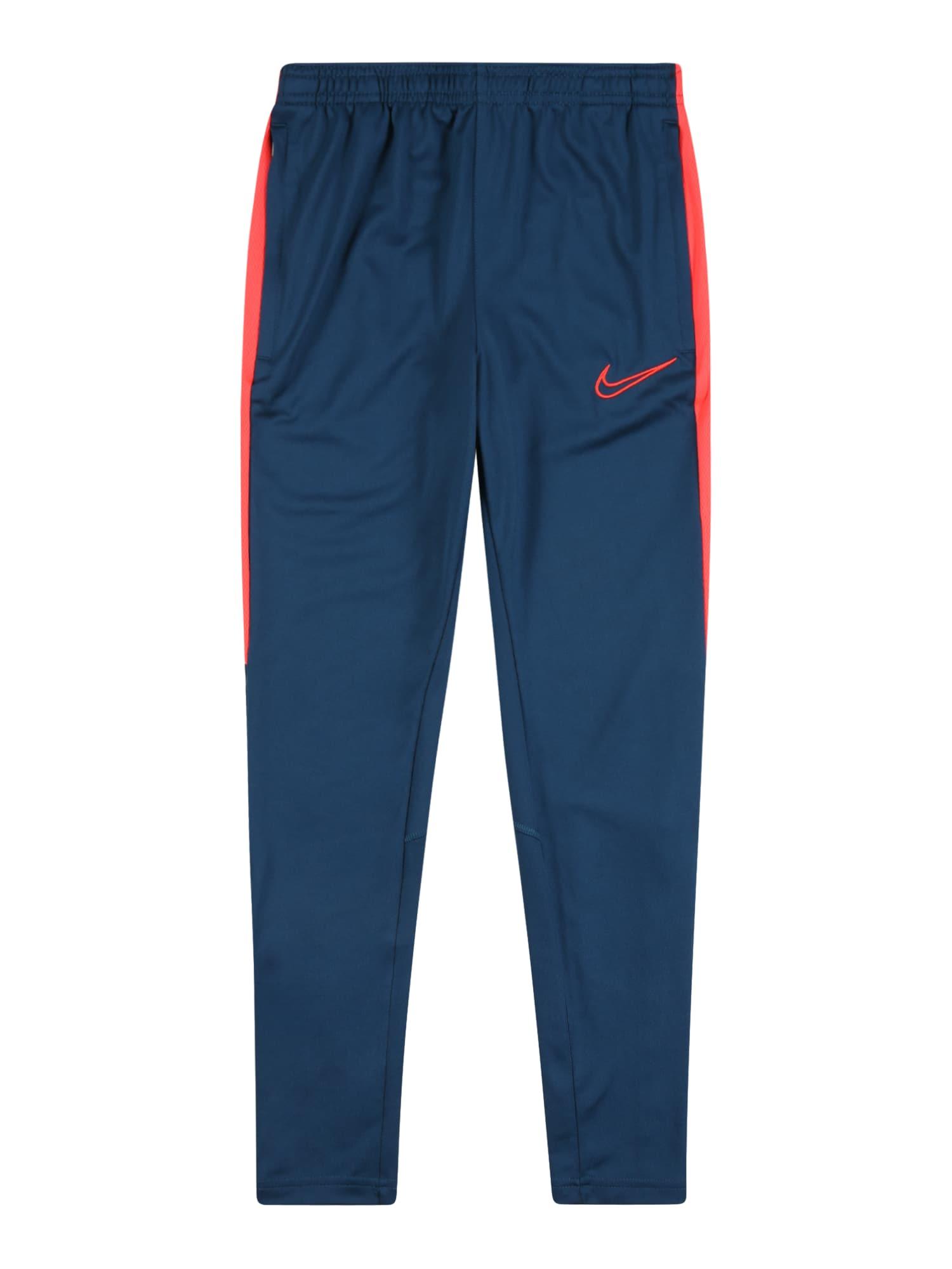 NIKE Sportinės kelnės mėlyna / rožinė