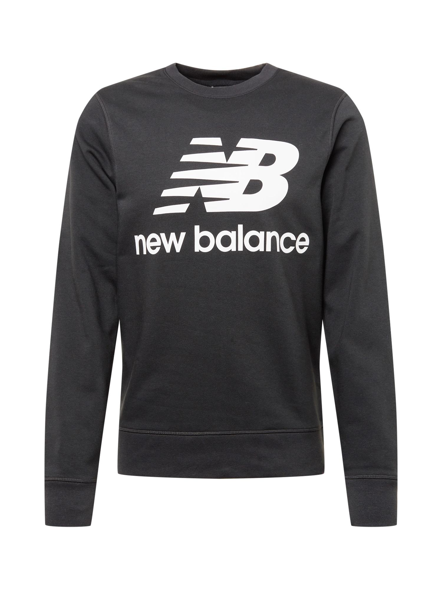 new balance Megztinis be užsegimo juoda / balta