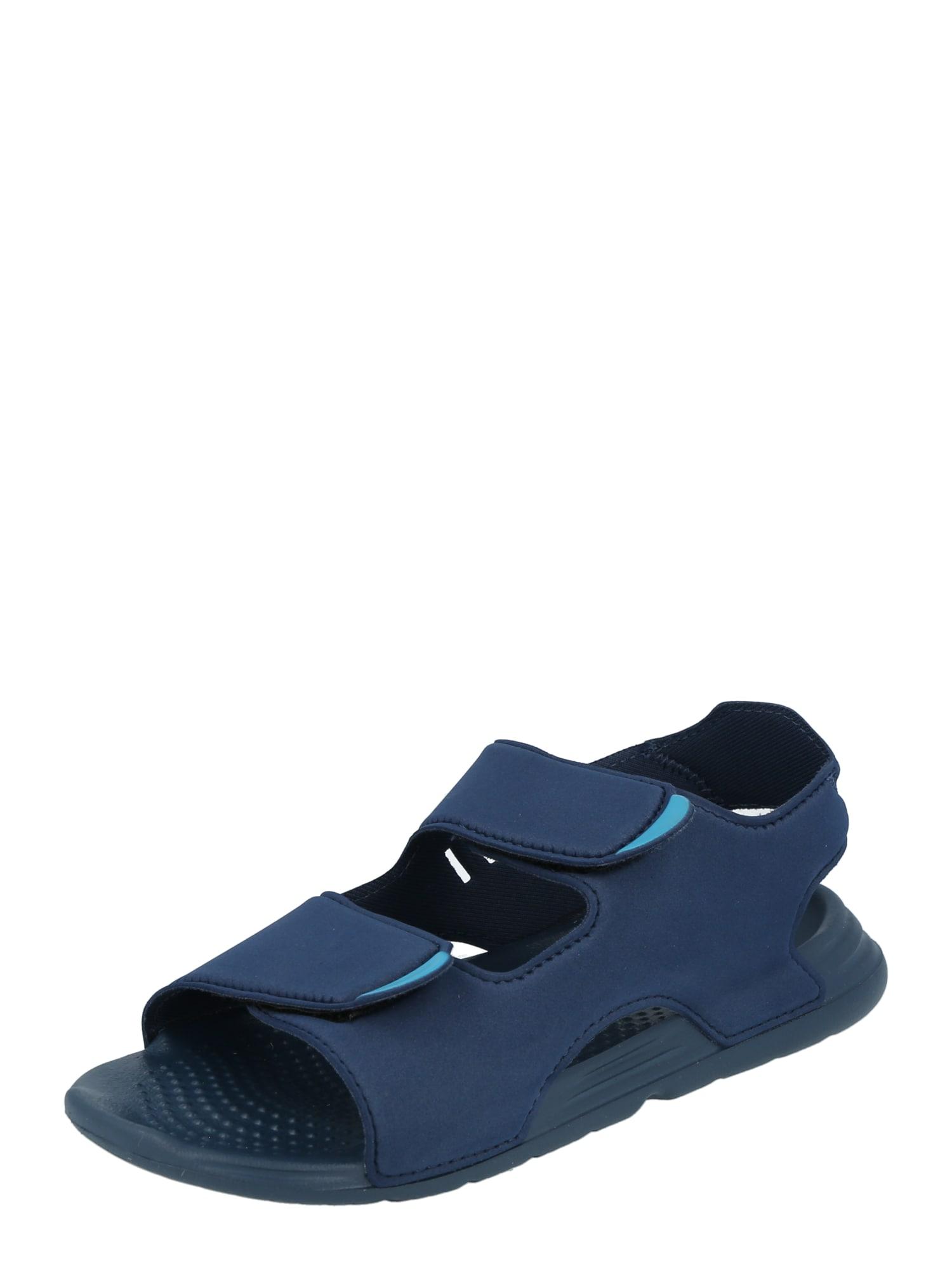 ADIDAS PERFORMANCE Sandalai / maudymosi batai tamsiai mėlyna