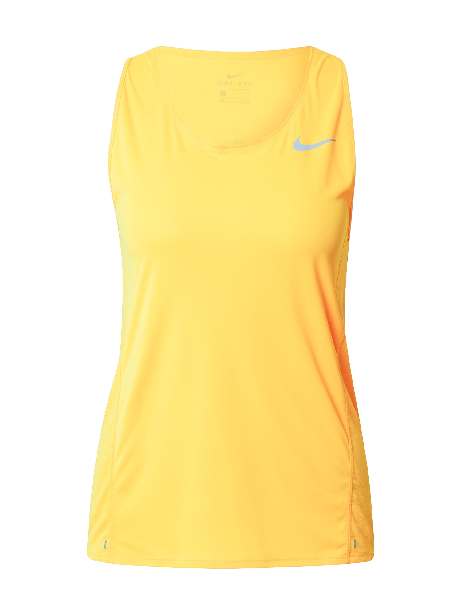 NIKE Sportovní top  žlutá