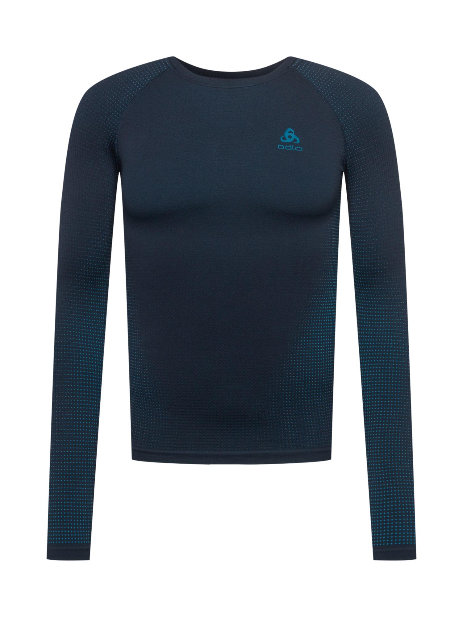 ODLO Sportiniai apatiniai marškinėliai tamsiai mėlyna