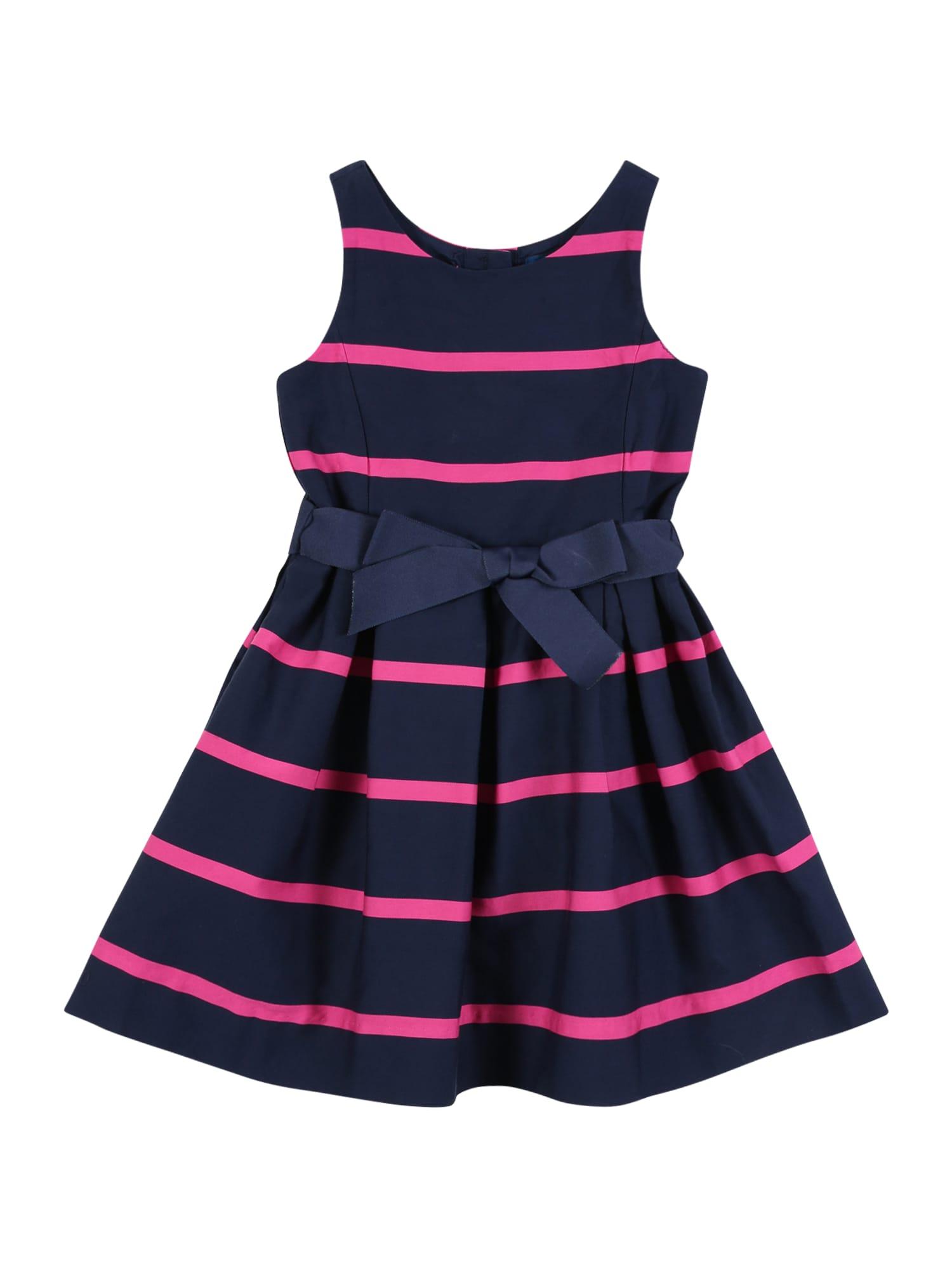 POLO RALPH LAUREN Šaty  námornícka modrá / ružová
