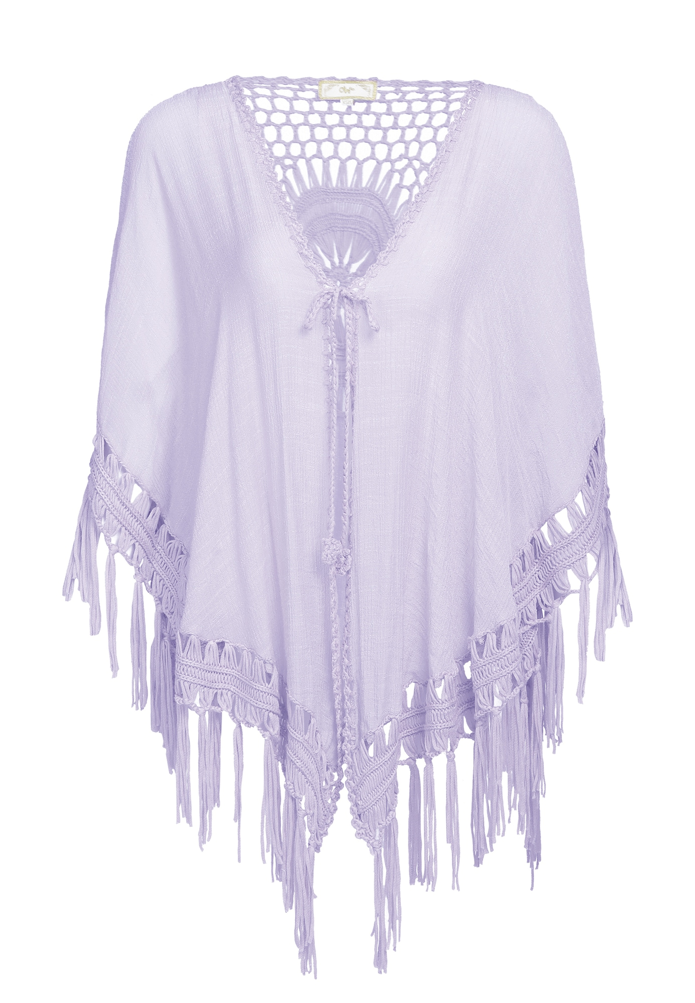 MYMO Apsiaustas pastelinė violetinė