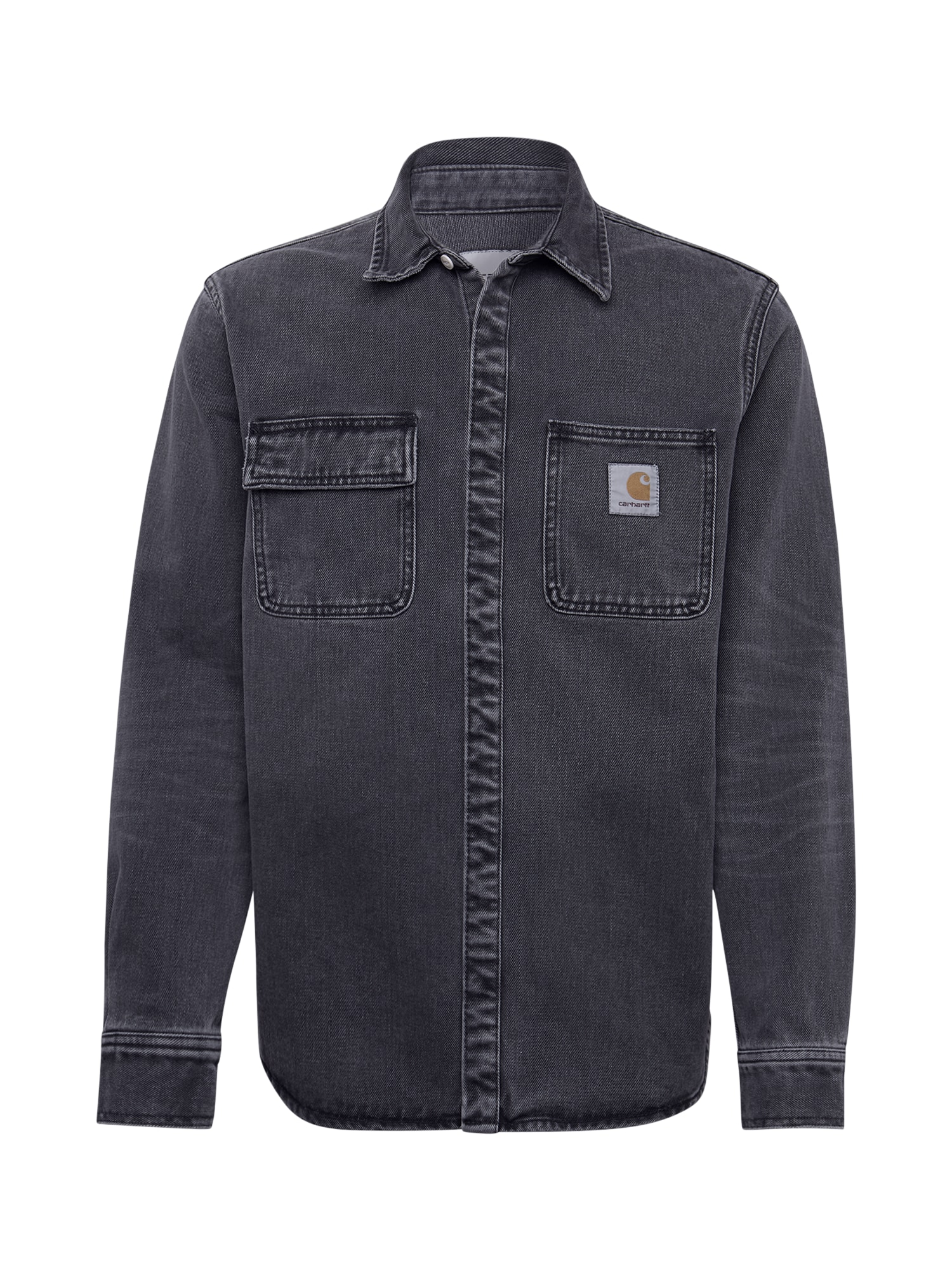 Carhartt WIP Dalykiniai marškiniai 'Salinac' pilka