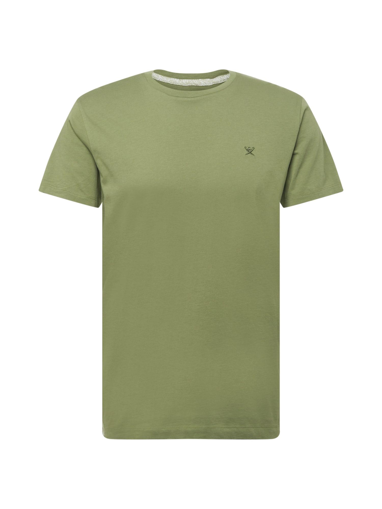 Hackett London Marškinėliai alyvuogių spalva