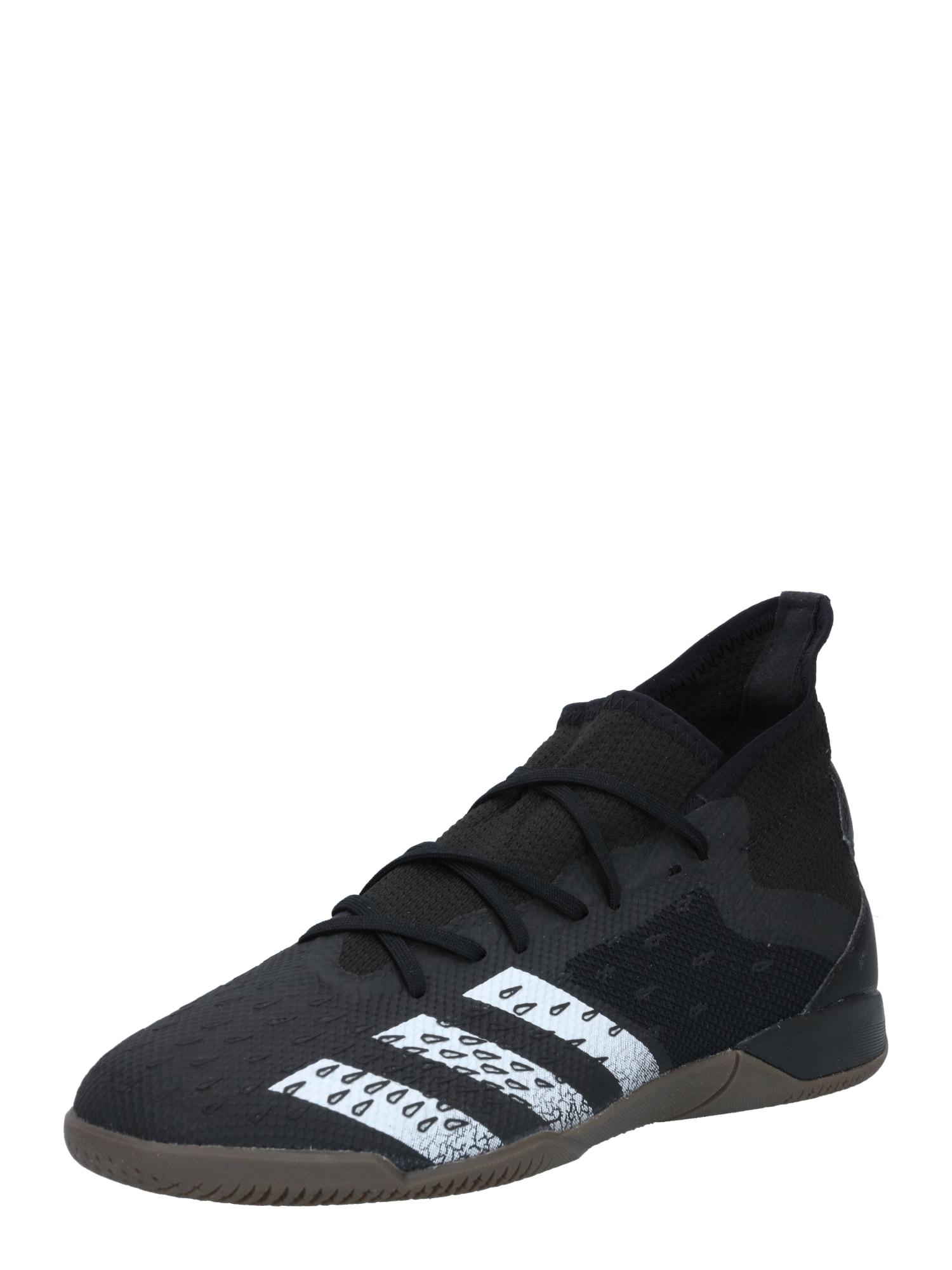 ADIDAS PERFORMANCE Sportovní boty 'PREDATOR FREAK'  černá / bílá