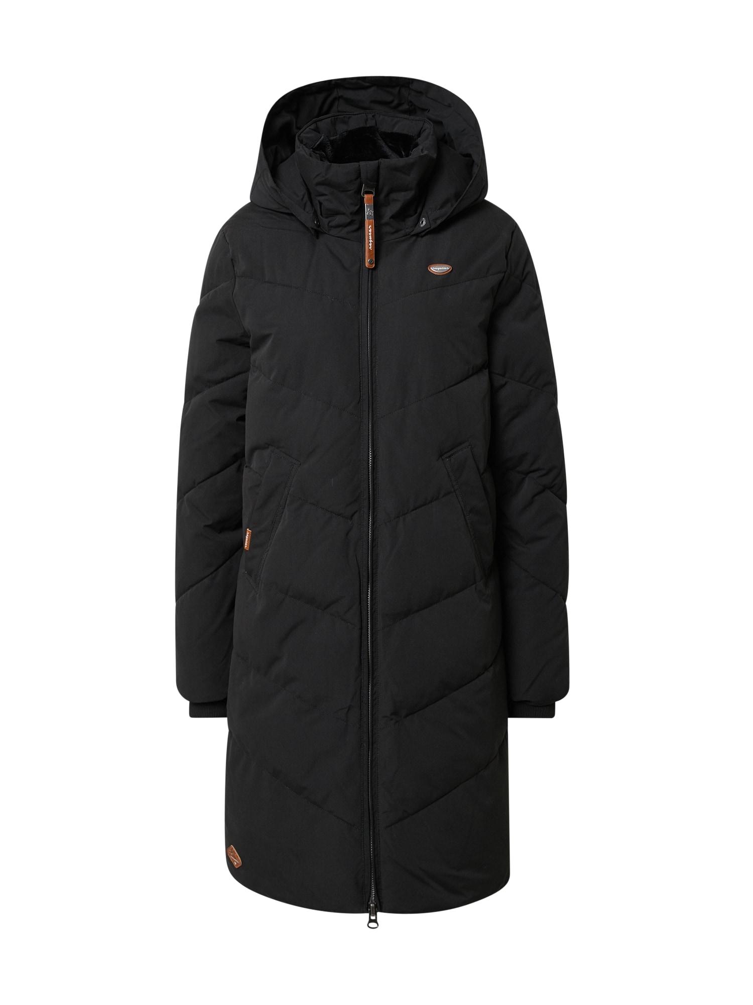 Ragwear Zimní kabát 'Rebelka'  hnědá / černá