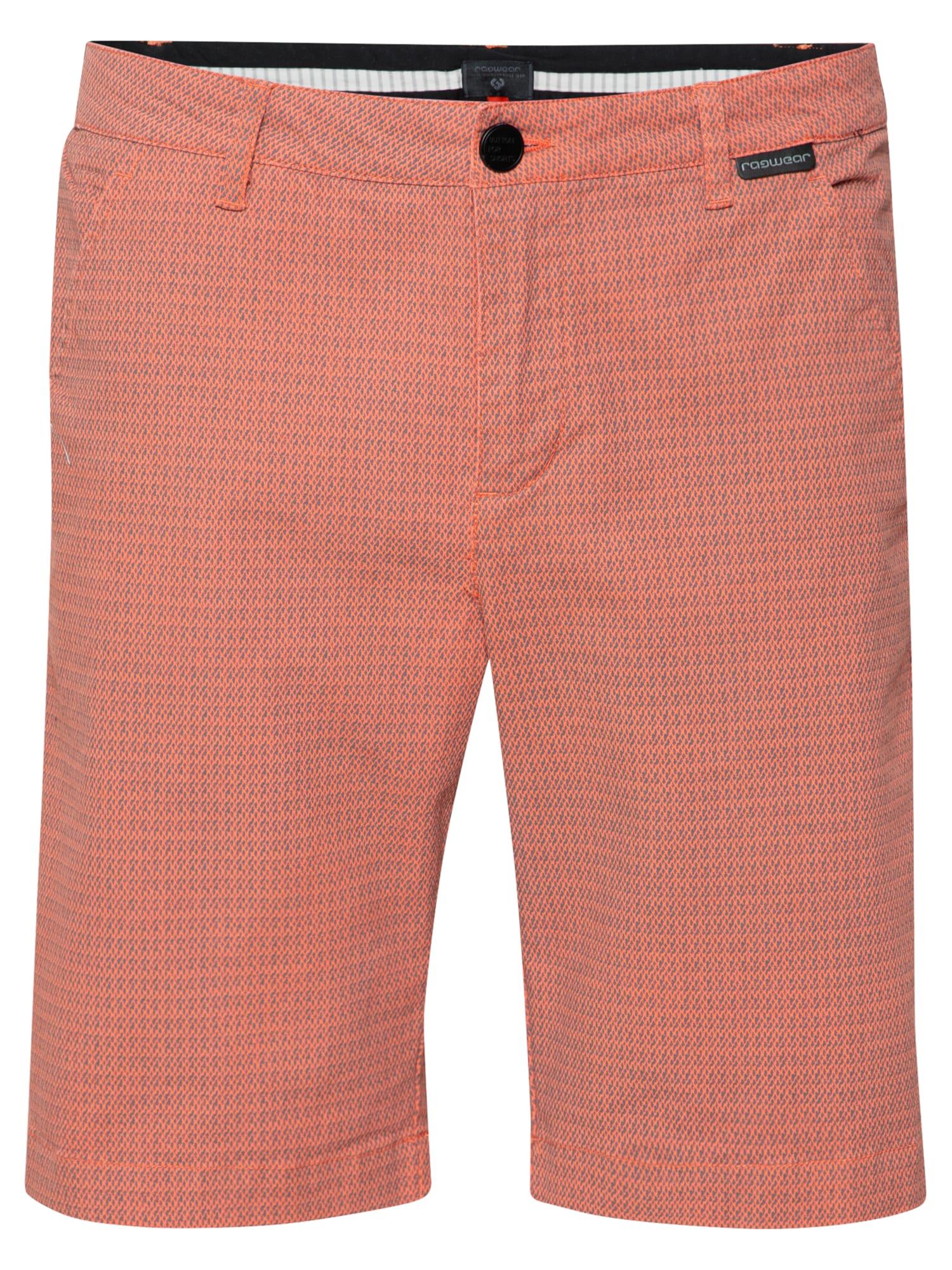 Ragwear Chino kalhoty 'CANNE'  korálová / kouřově šedá