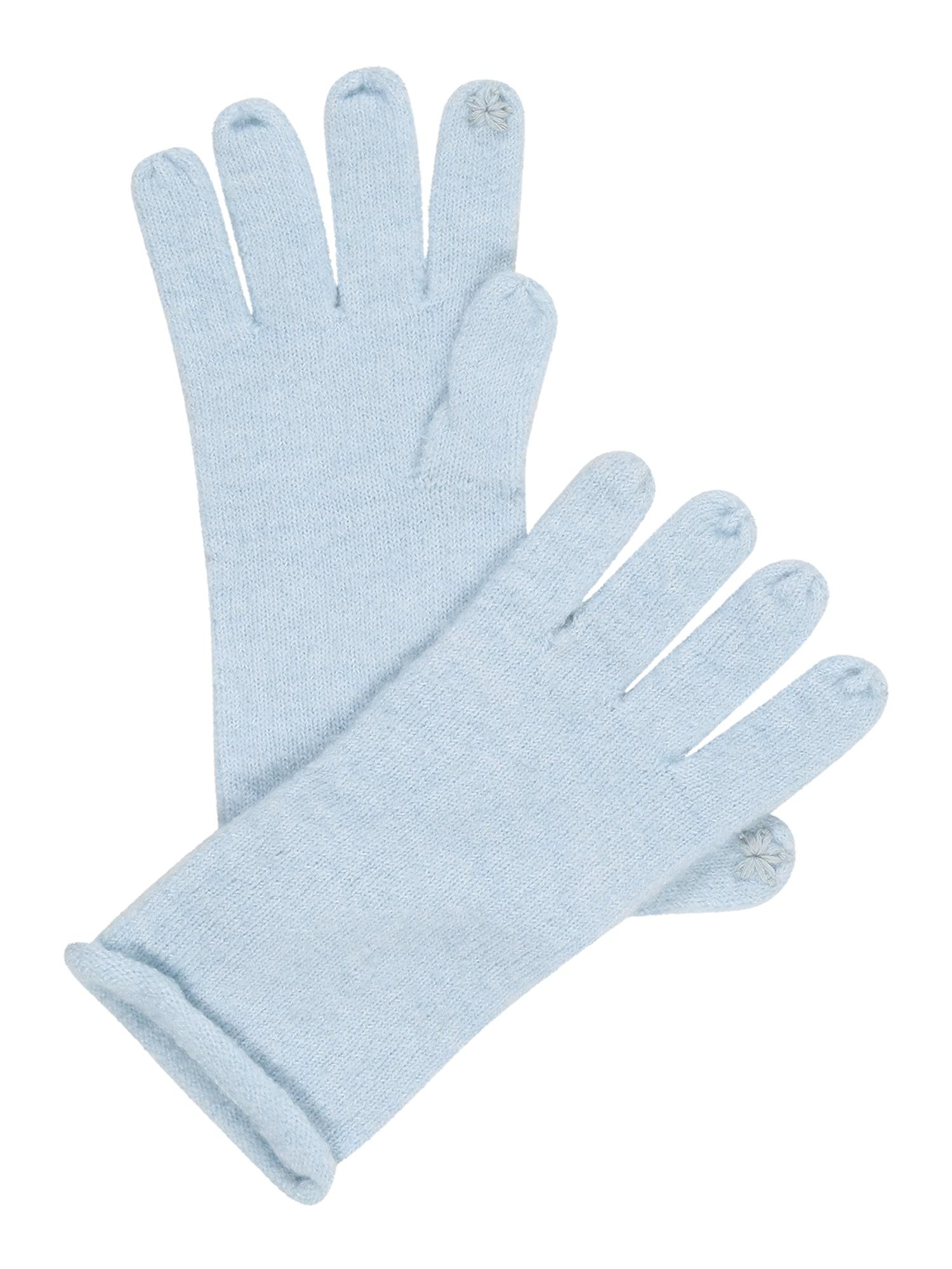 ESPRIT Pirštuotos pirštinės pastelinė mėlyna