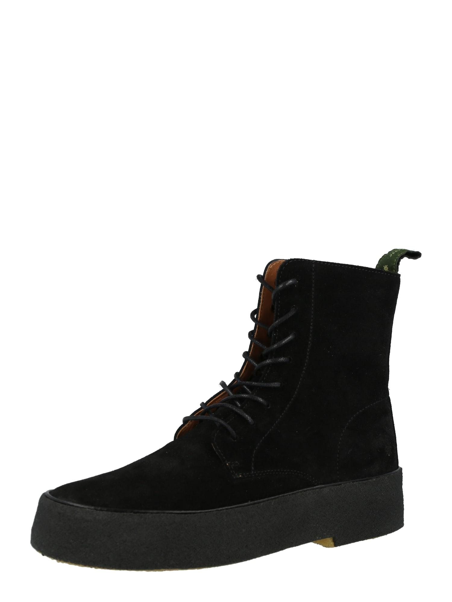 The Original Playboy Suvarstomieji batai juoda