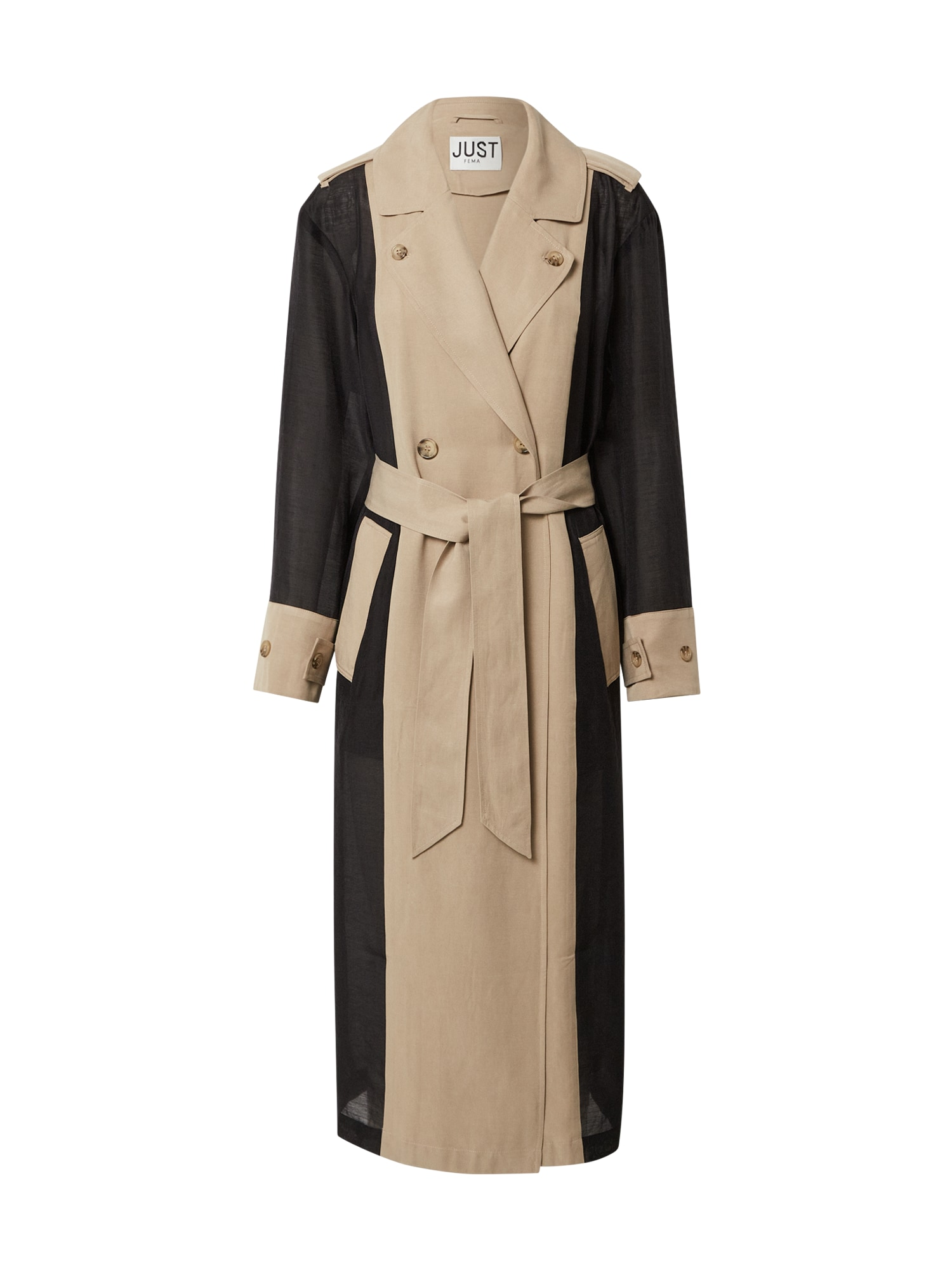JUST FEMALE Demisezoninis paltas