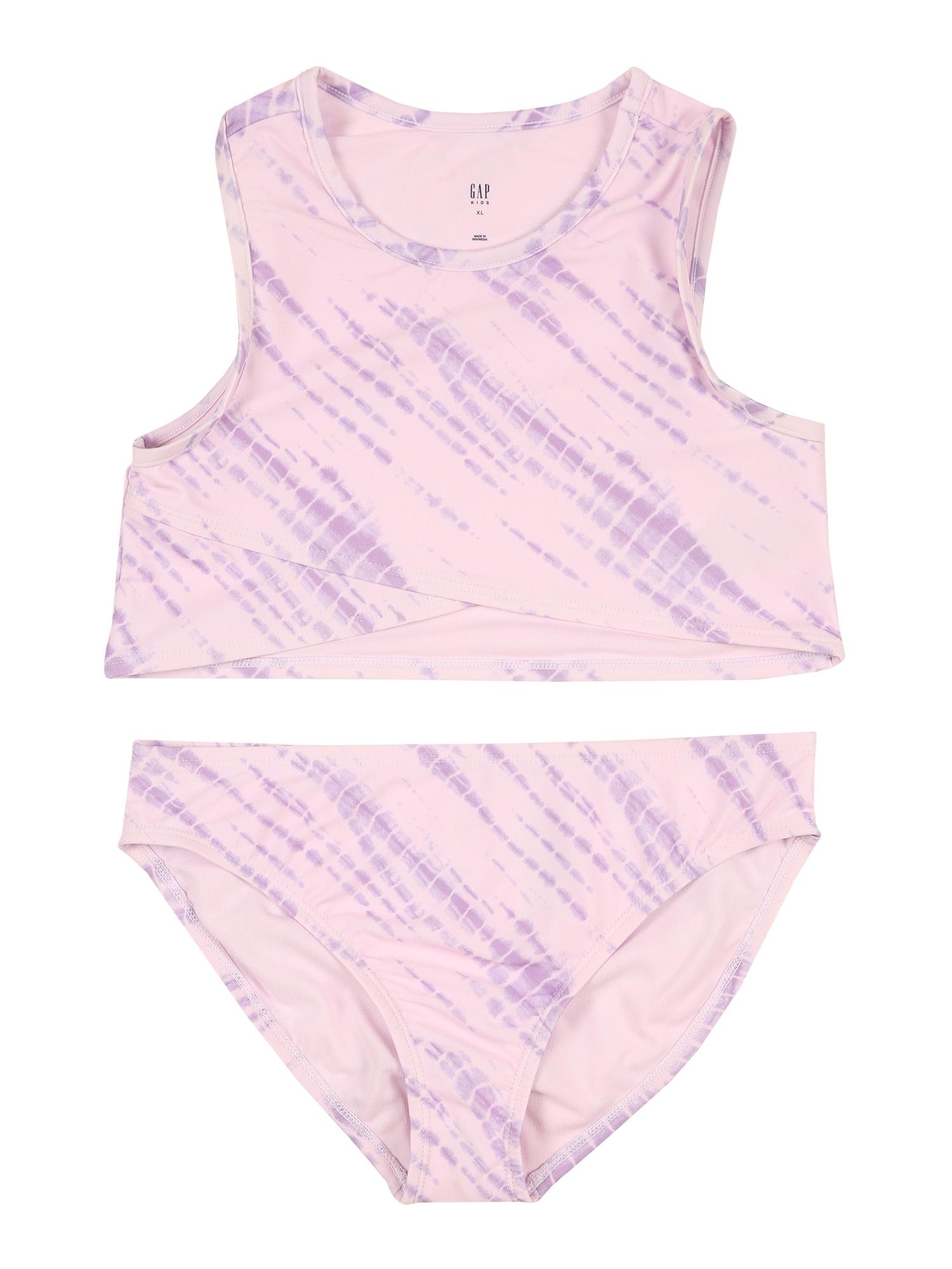 GAP Bikiny  růžová / tmavě fialová