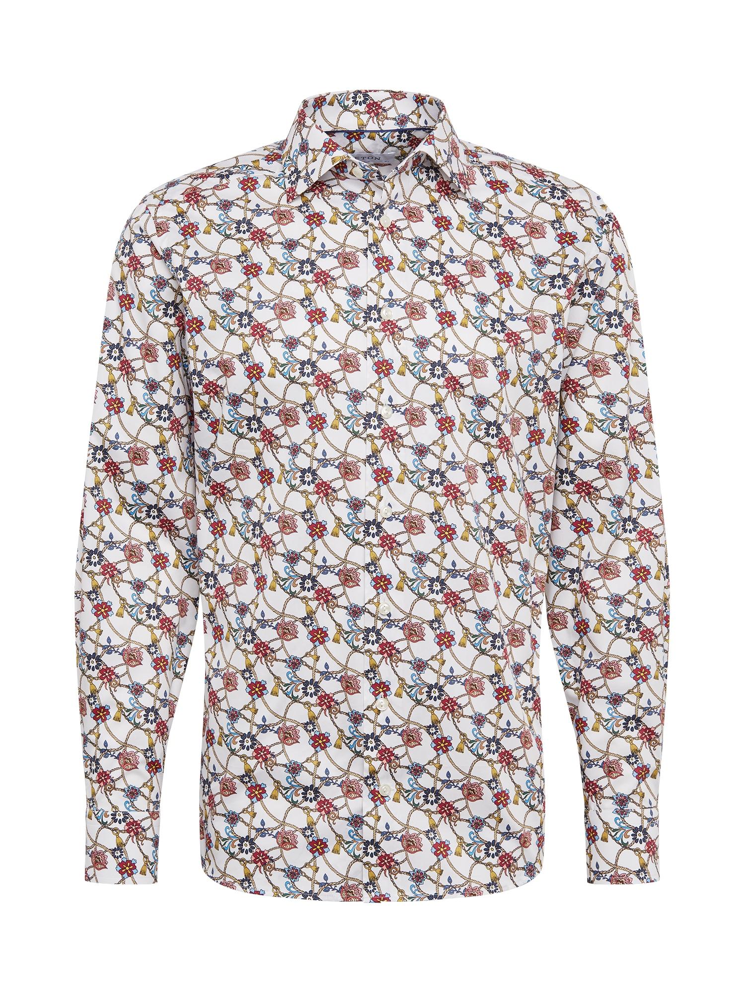 ETON Marškiniai balta / mišrios spalvos
