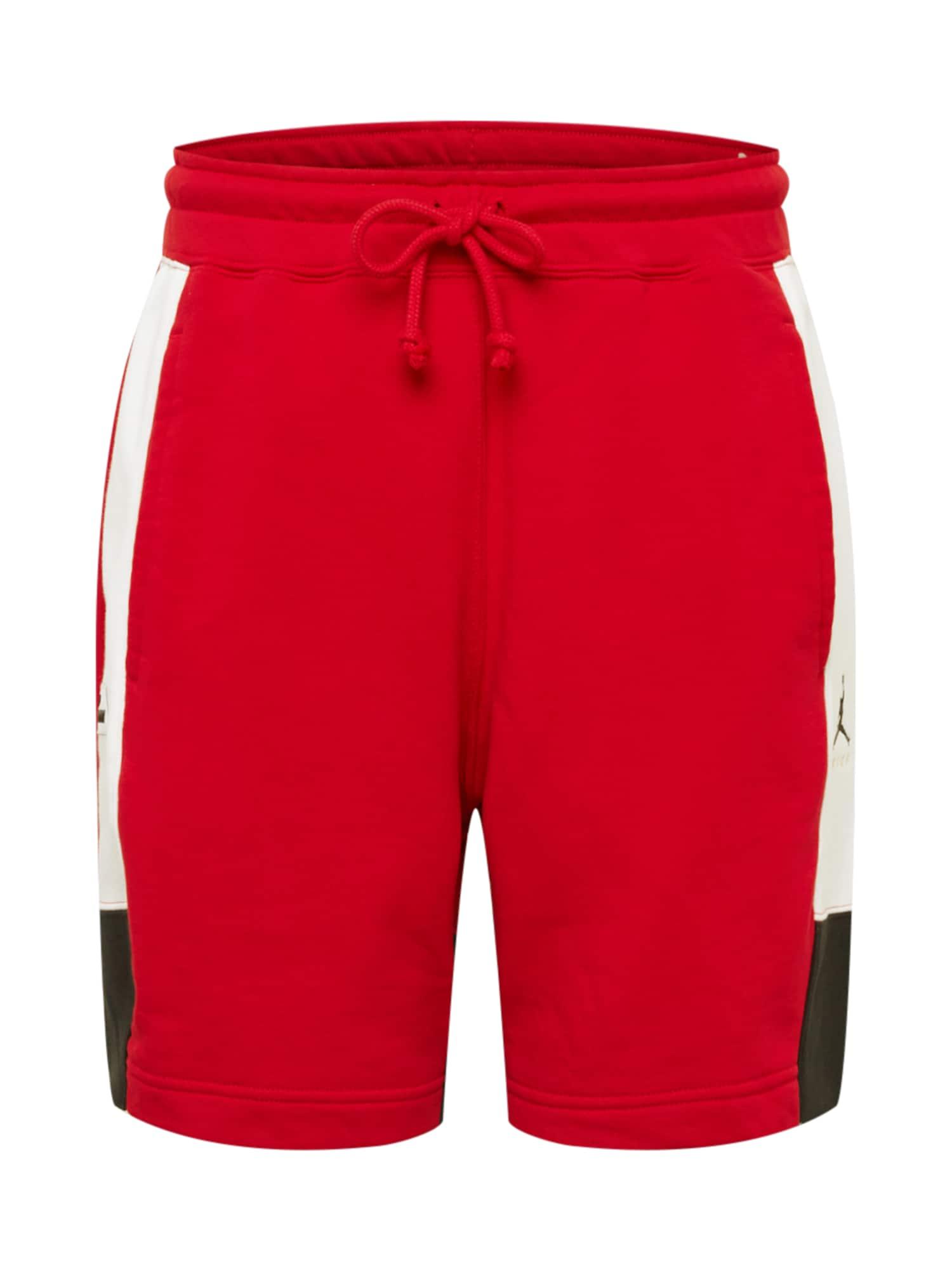 Jordan Kelnės raudona / balta / juoda