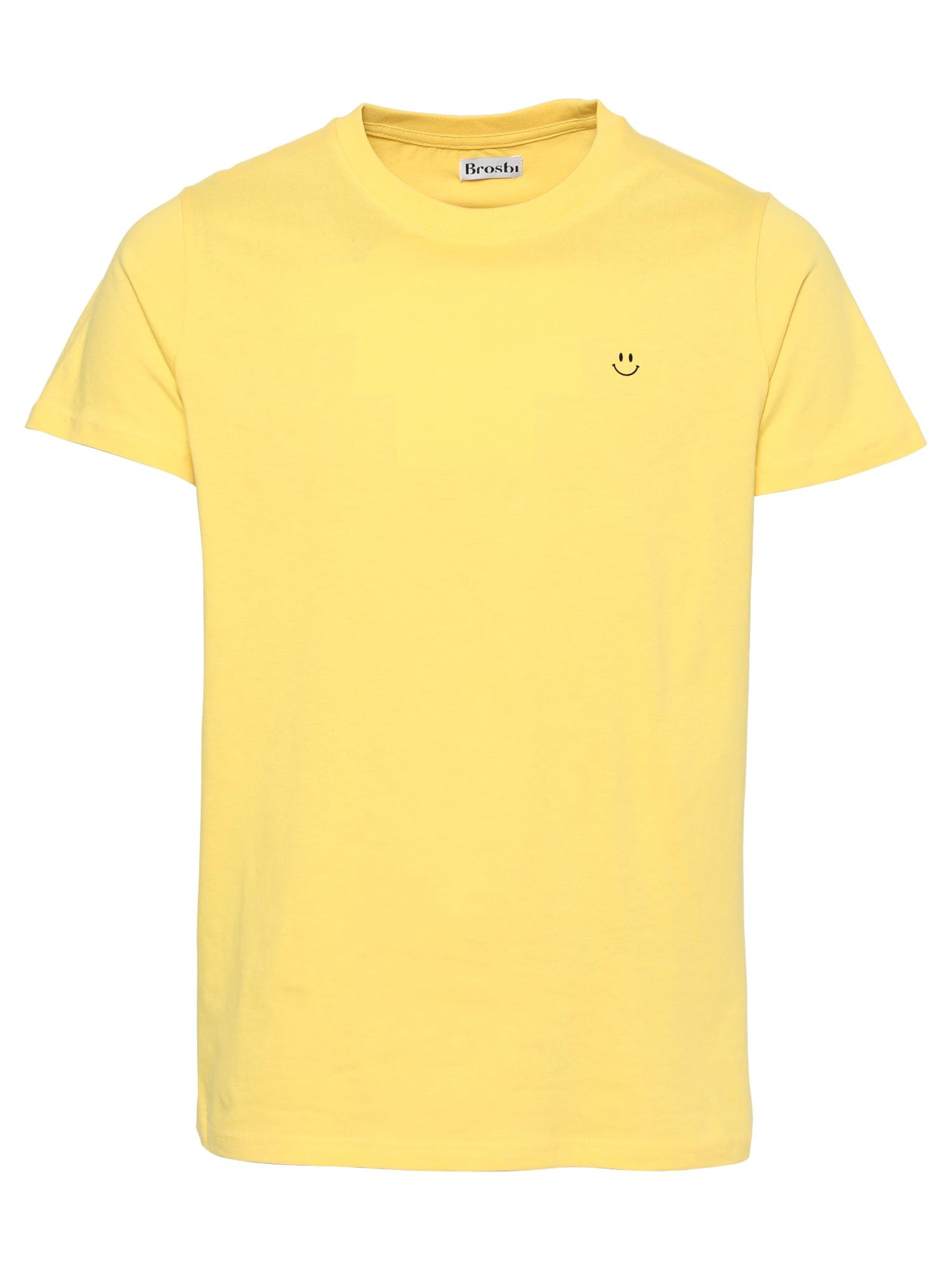 Brosbi Marškinėliai geltona