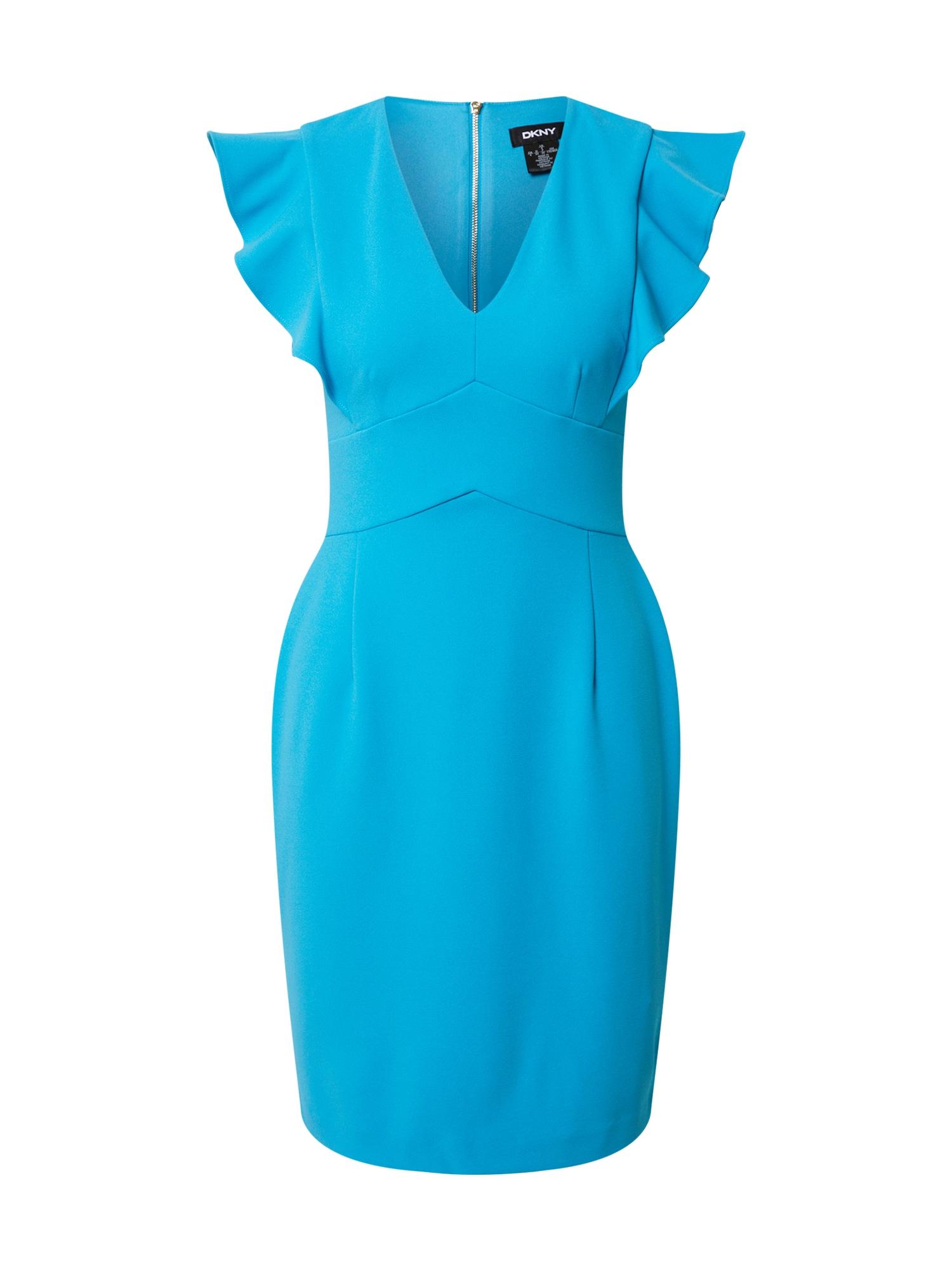 DKNY Suknelė neoninė mėlyna