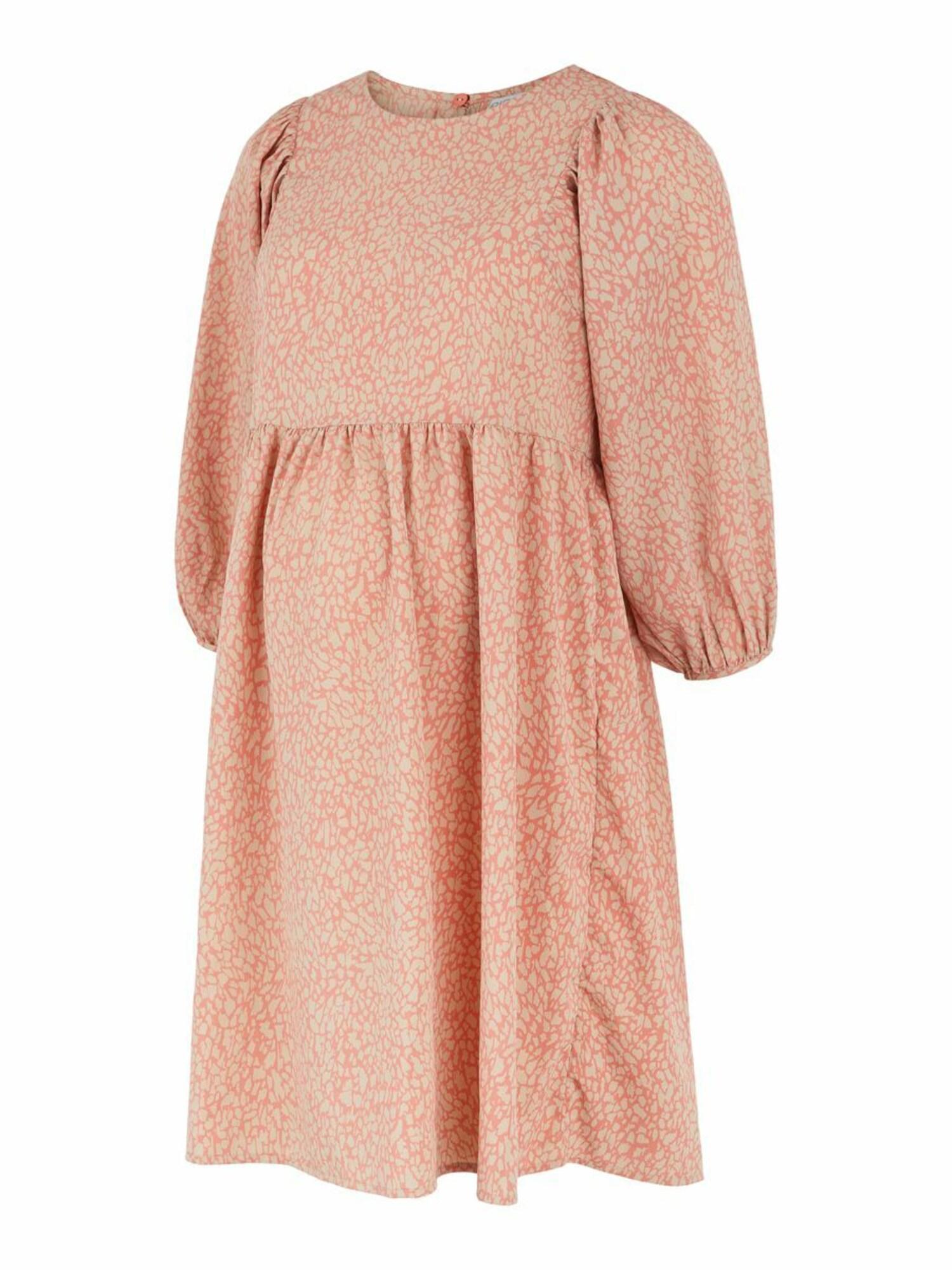 MAMALICIOUS Suknelė 'Gilberta' lašišų spalva / smėlio