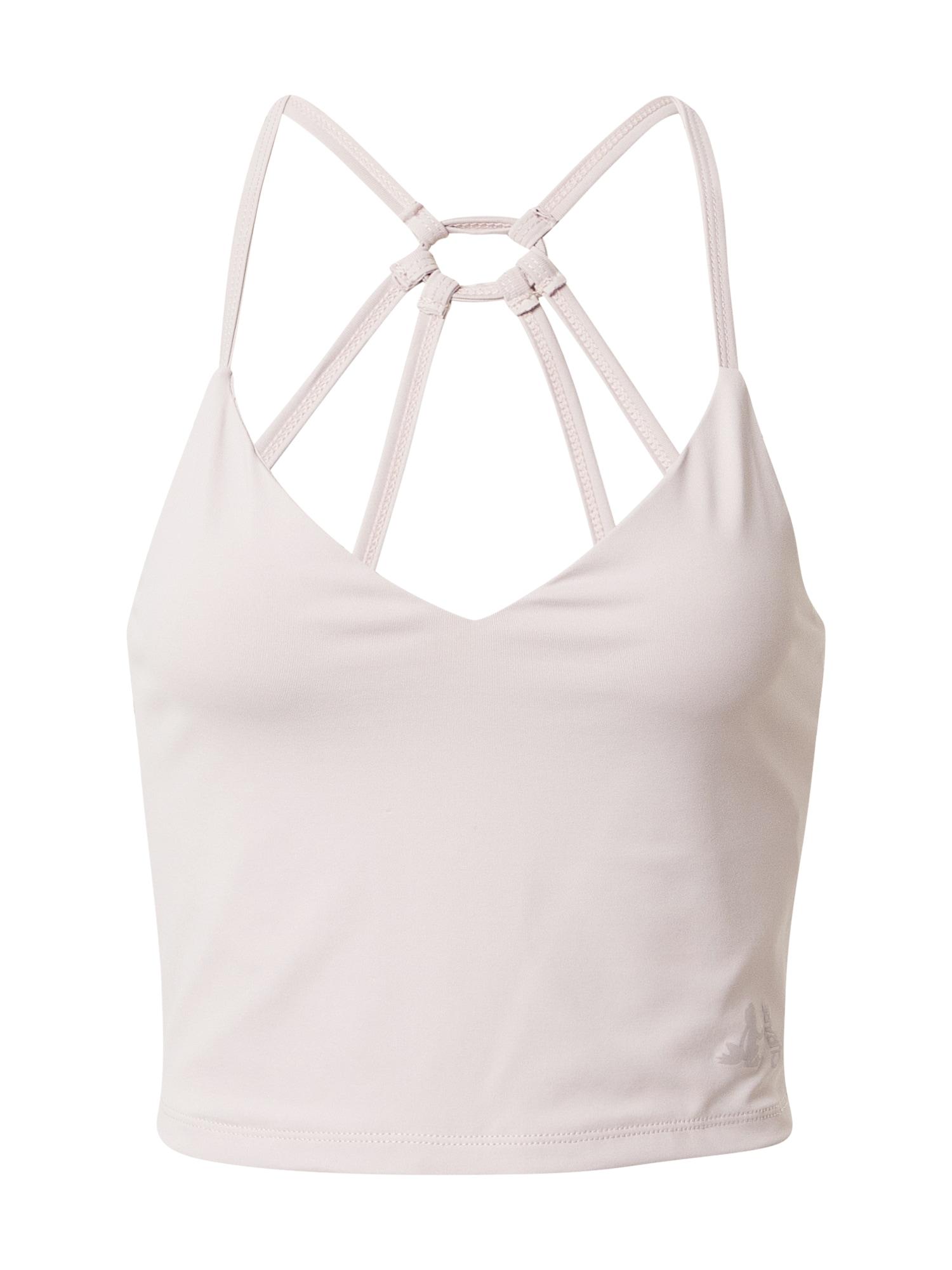 CURARE Yogawear Sportiniai marškinėliai be rankovių pudros spalva