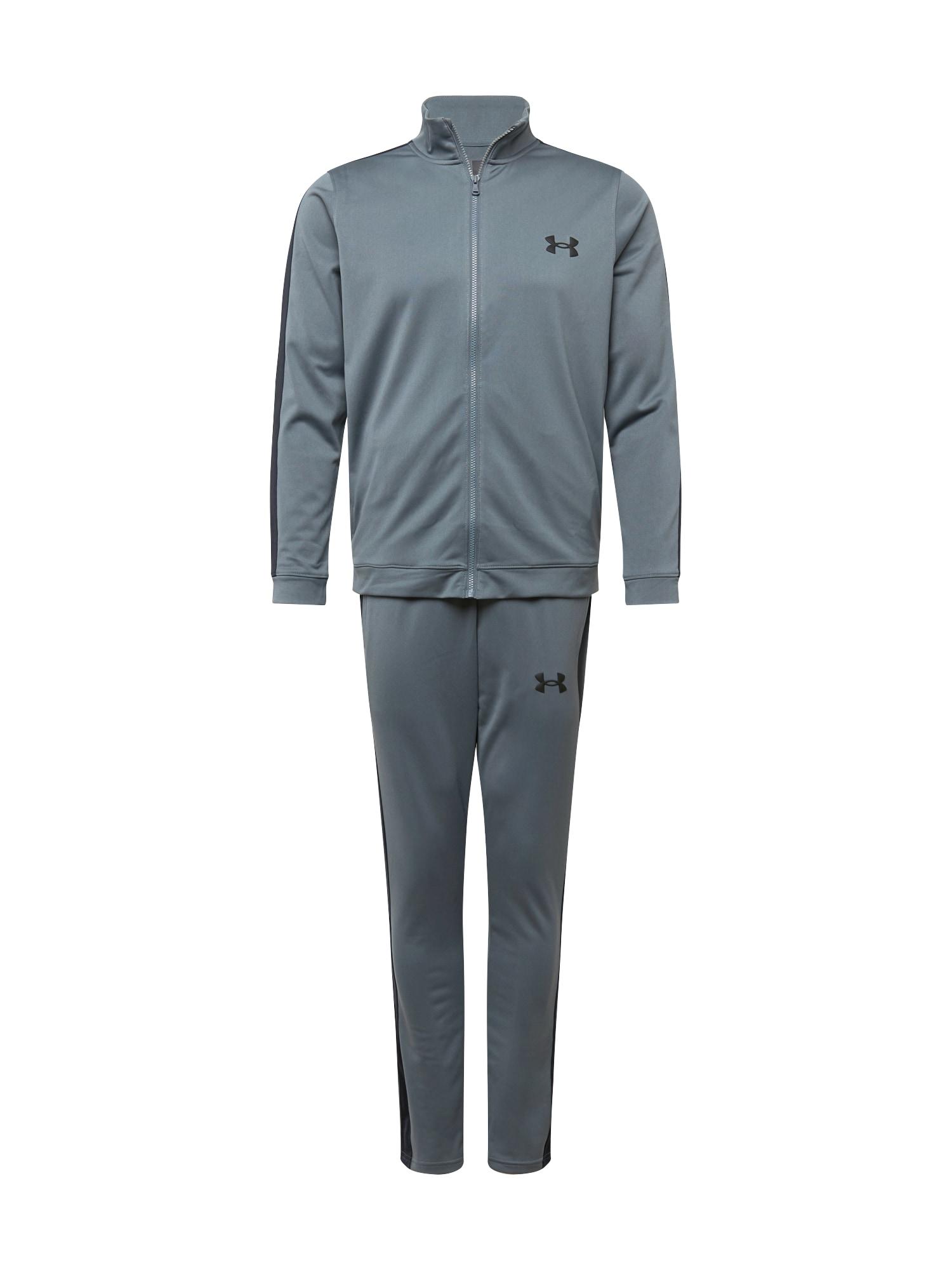 UNDER ARMOUR Treniruočių kostiumas pilka / juoda