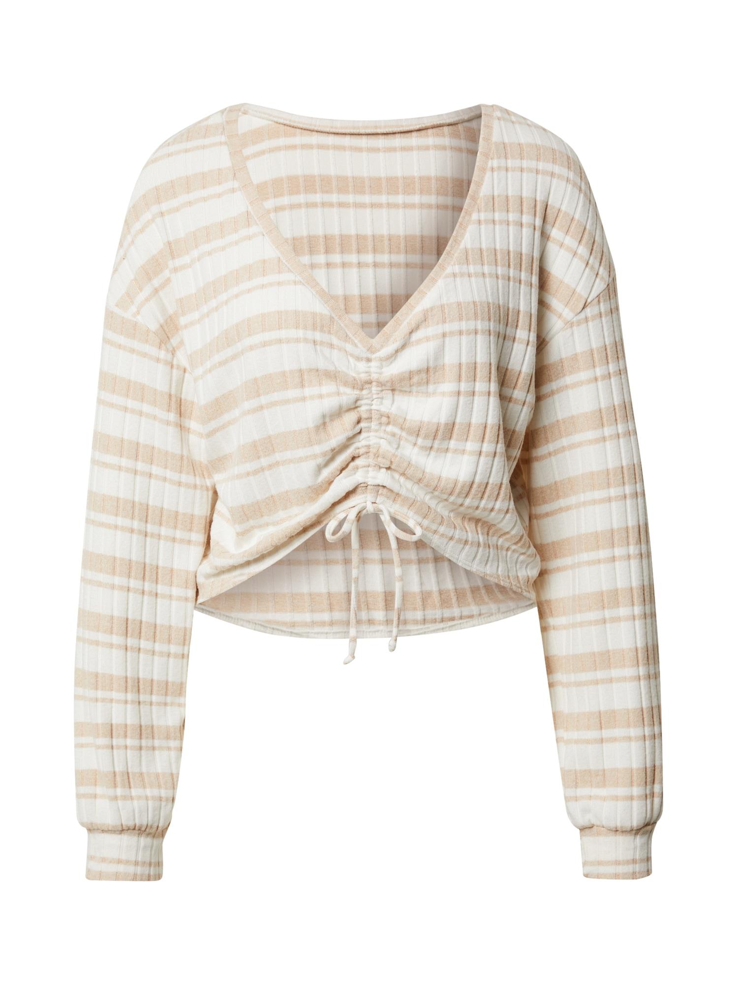 Gilly Hicks Pižaminiai marškinėliai balta / kūno spalva