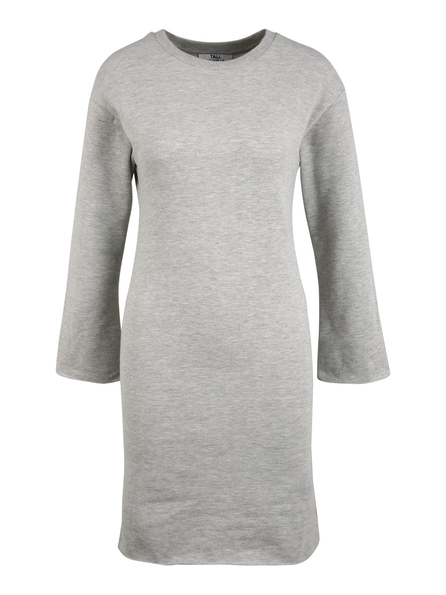 Dorothy Perkins (Tall) Šaty  šedý melír